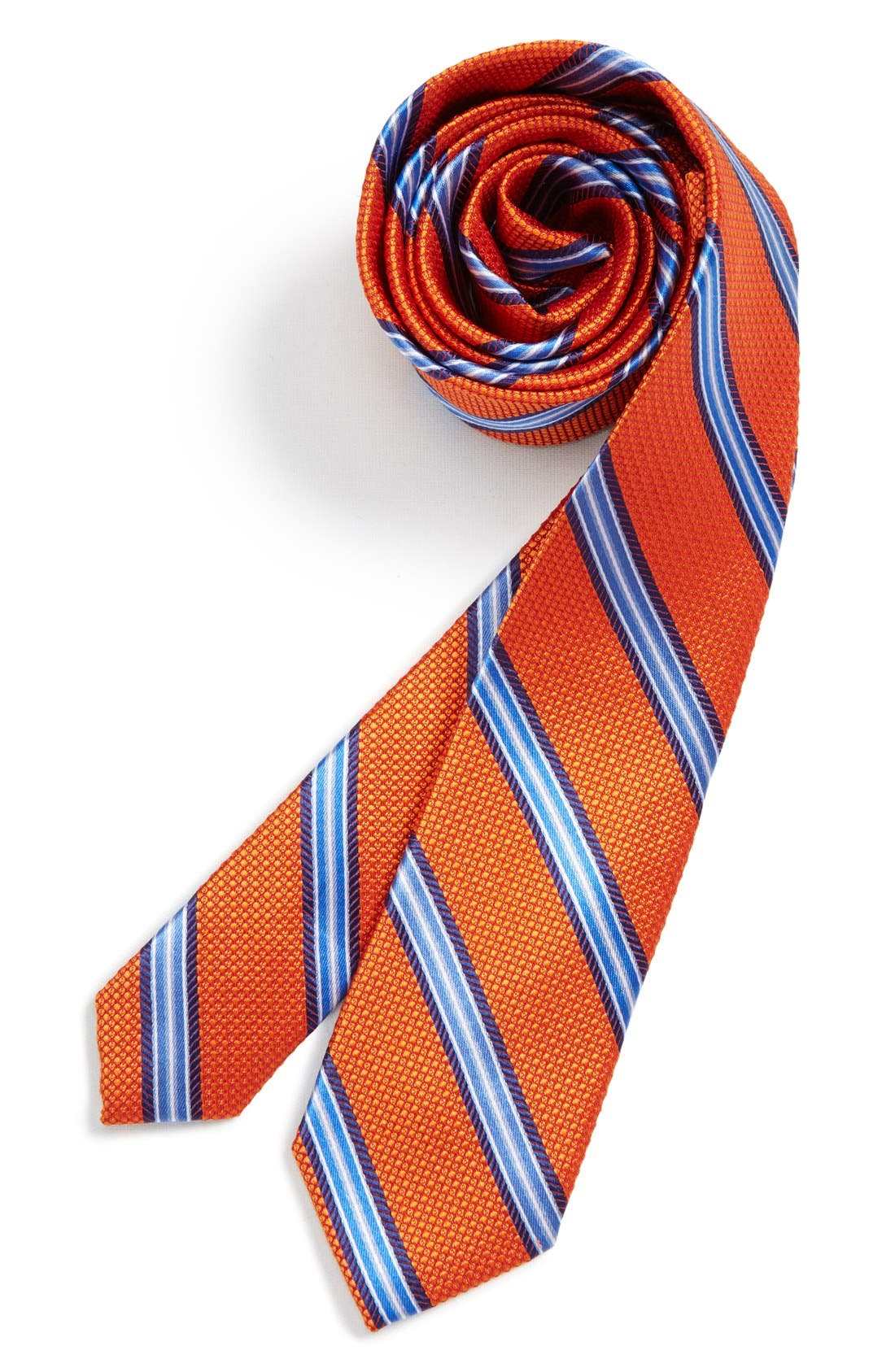 Alternate Image 1 Selected - Michael Kors Stripe Silk Tie (Big Boys)