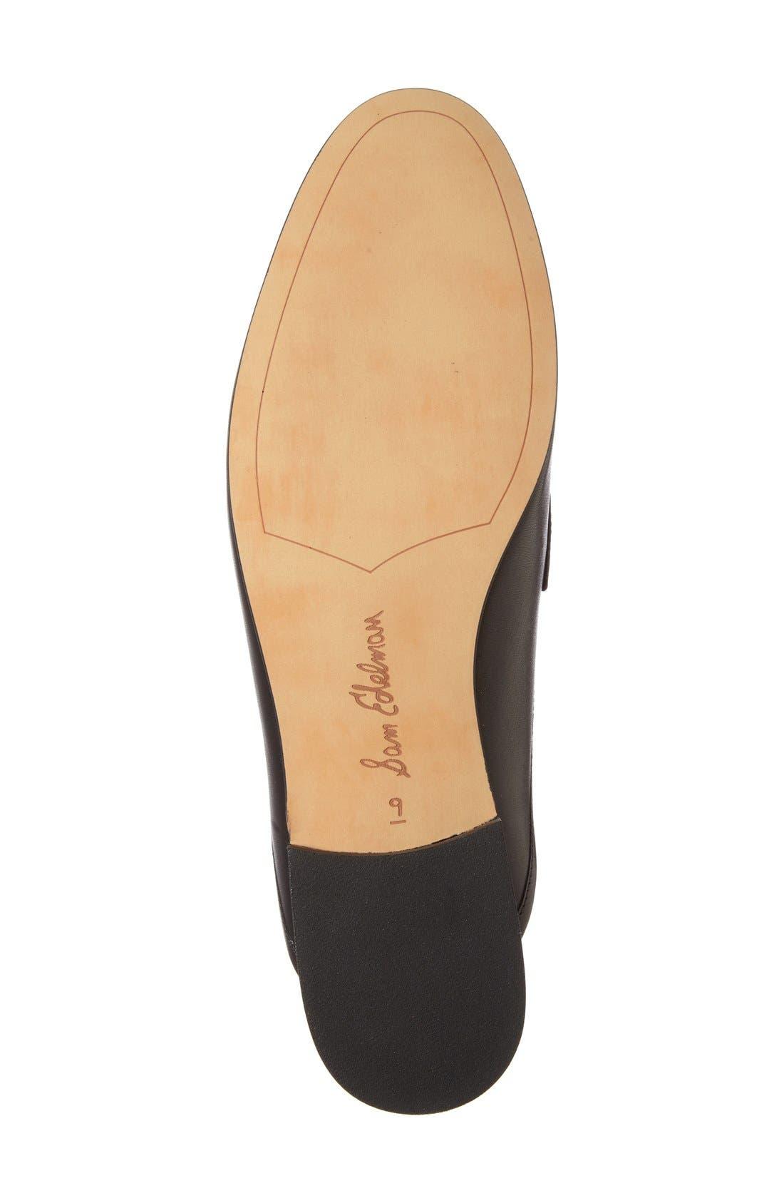 Alternate Image 4  - Sam Edelman Paris Backless Tassel Loafer (Women)