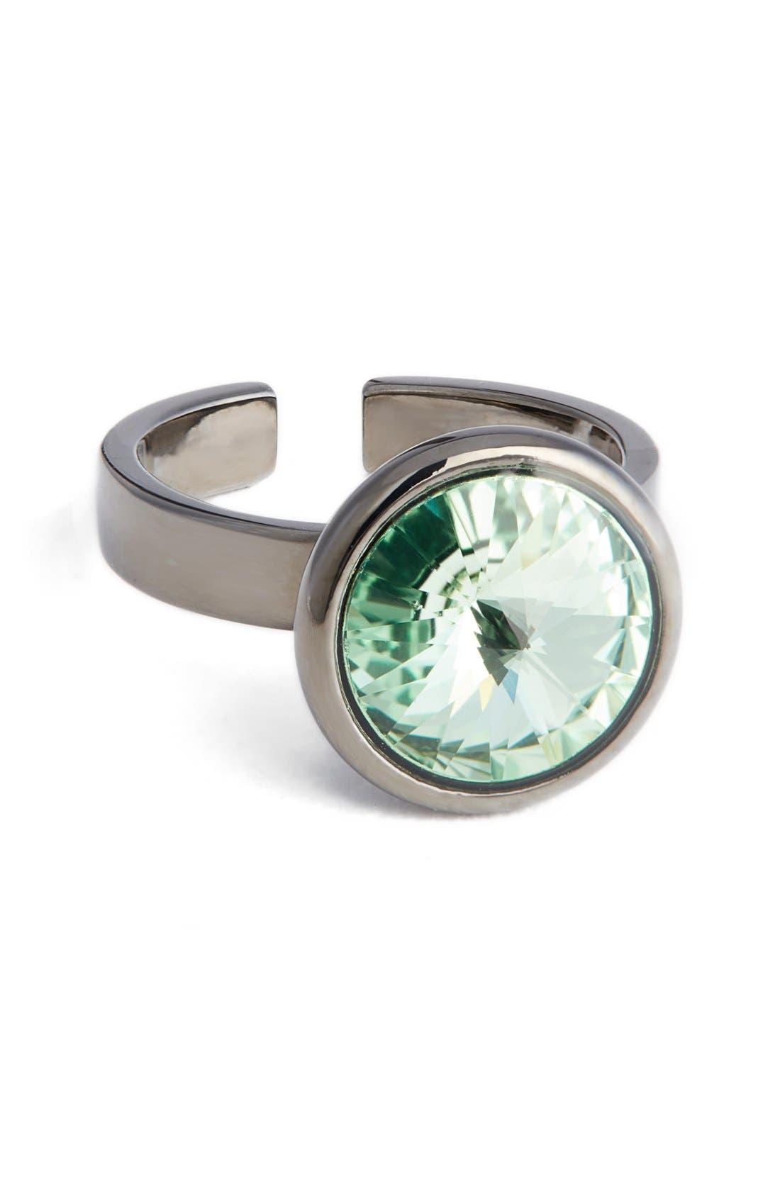 JIWINAIA Crystal Midi Ring