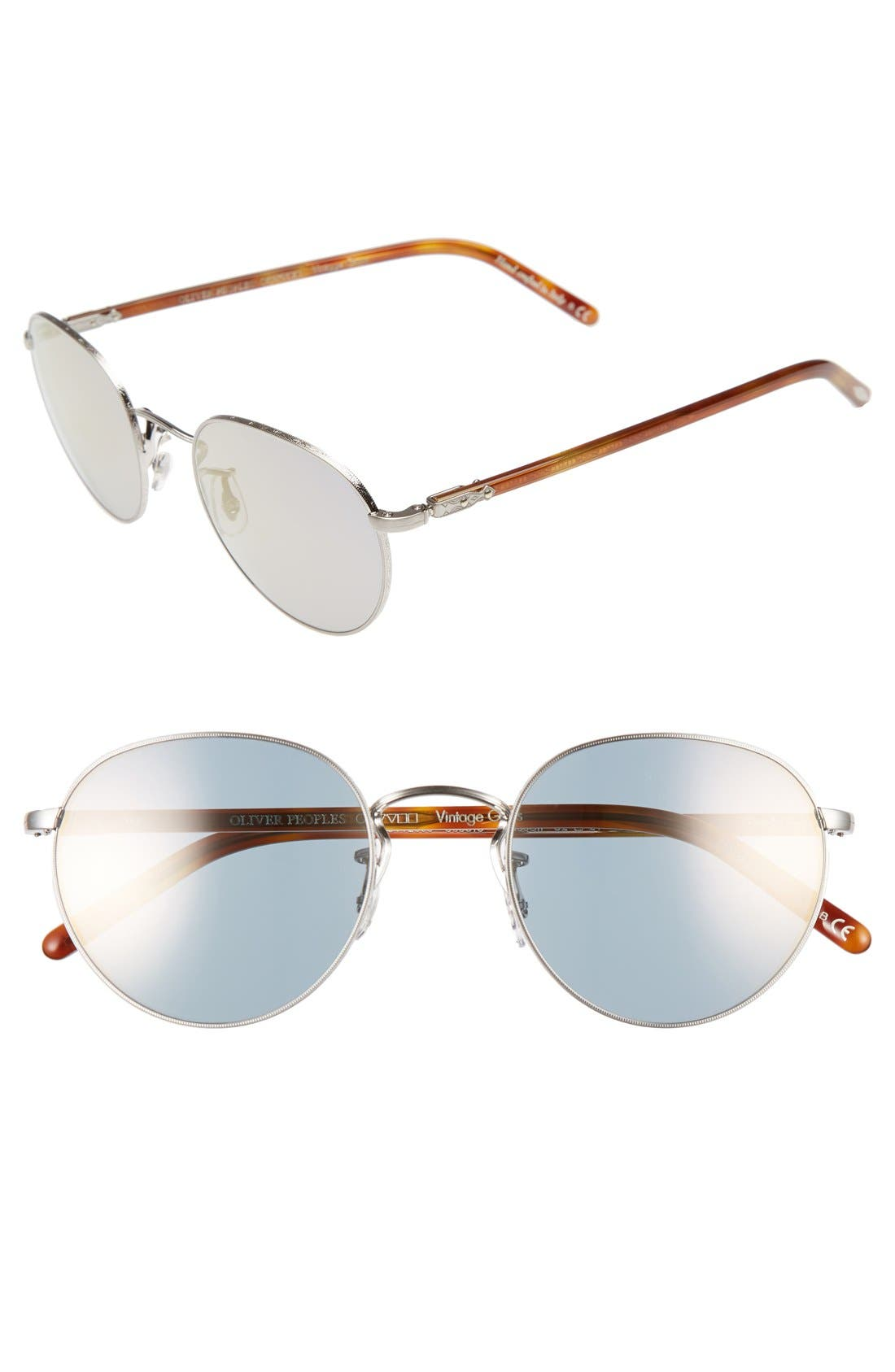 Oliver Peoples Hasset 52mm Sunglasses