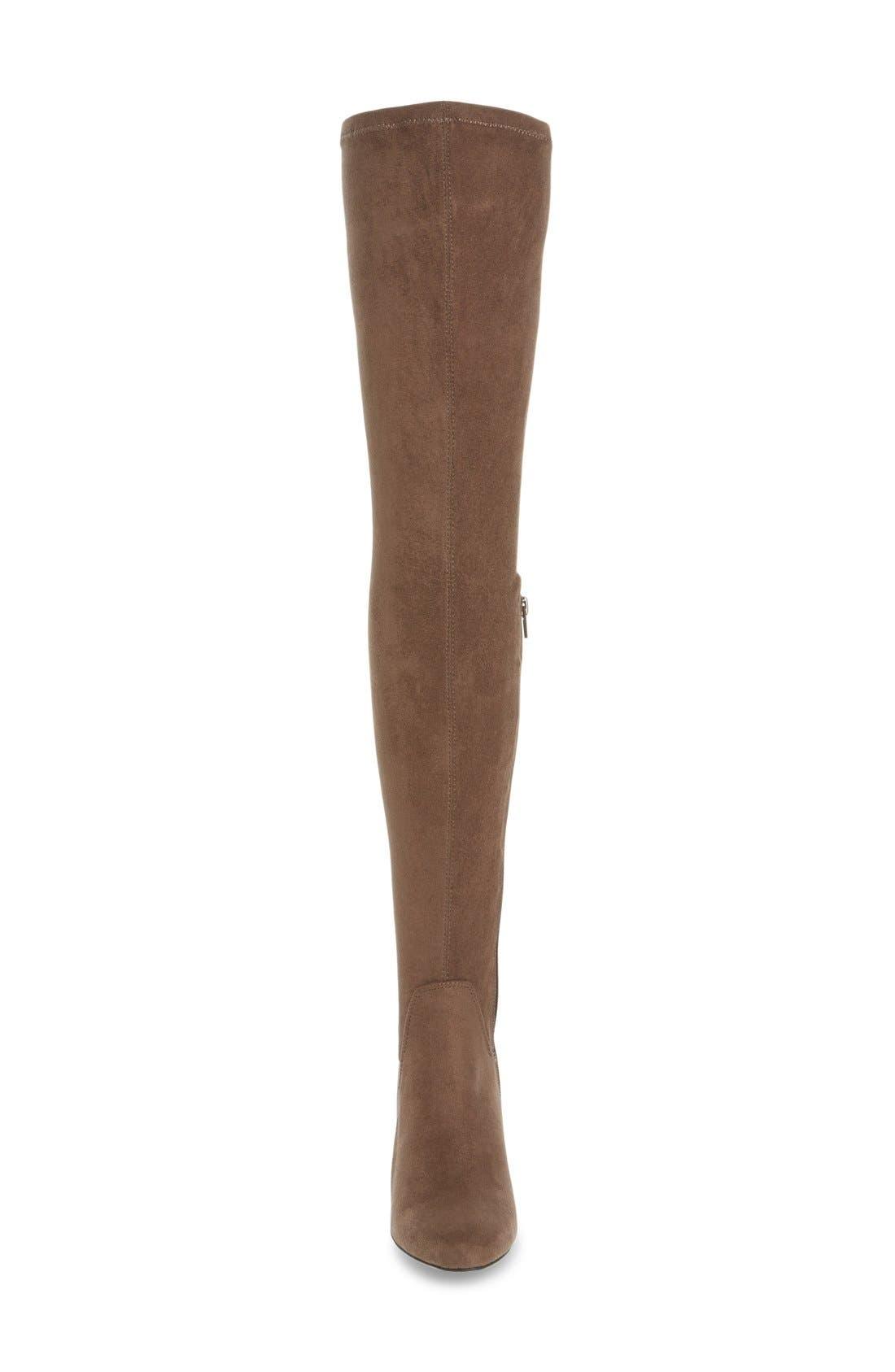 Alternate Image 3  - MIA Emelia Thigh High Boot (Women)
