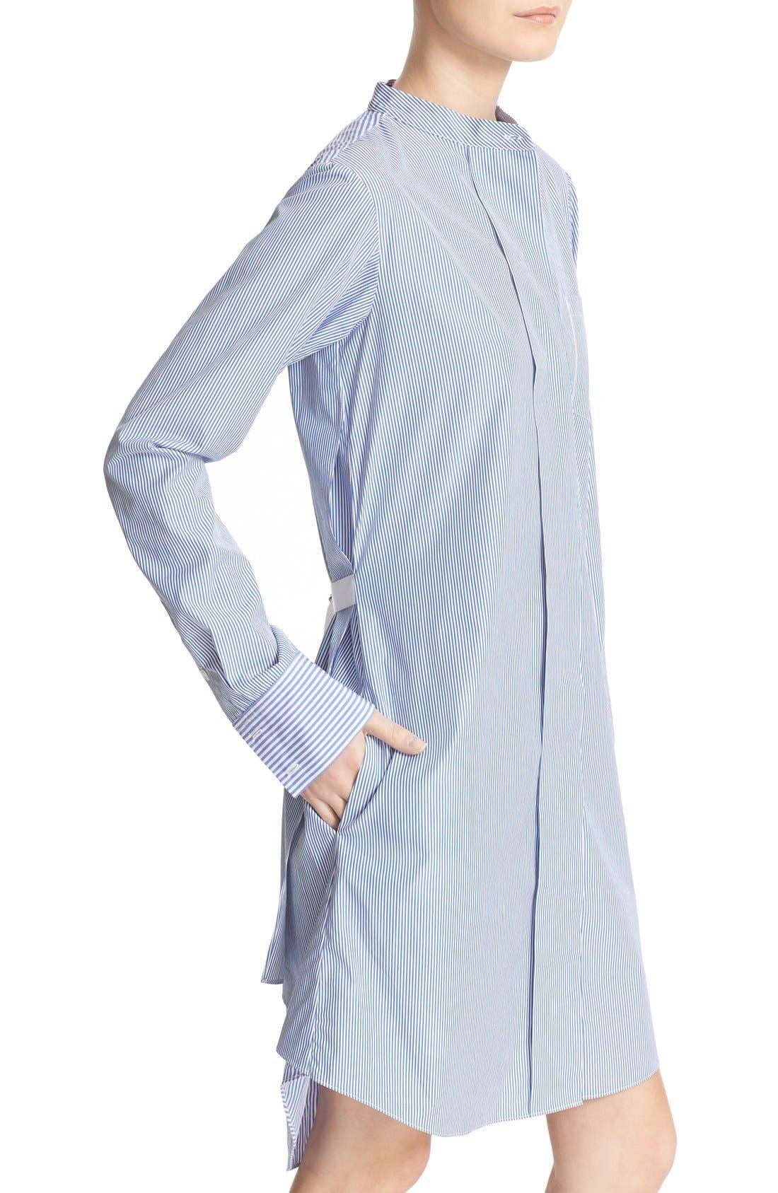 Alternate Image 4  - Theory Jodalee Cotton Poplin Shirtdress
