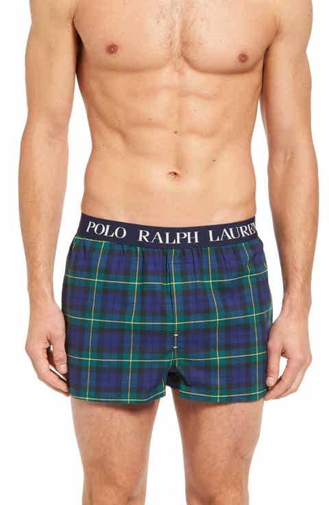 Polo Ralph Lauren Slim Fit Stretch Woven Boxer Shorts