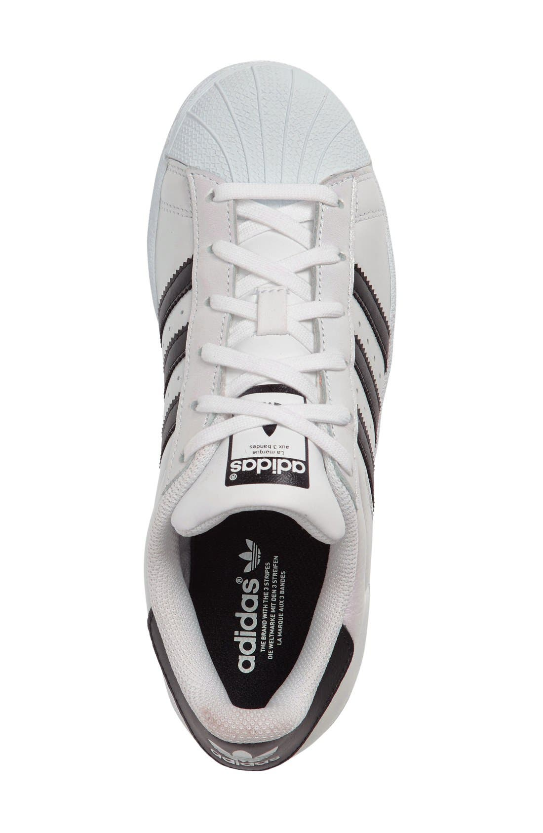 Alternate Image 3  - adidas Superstar Metallic Sneaker