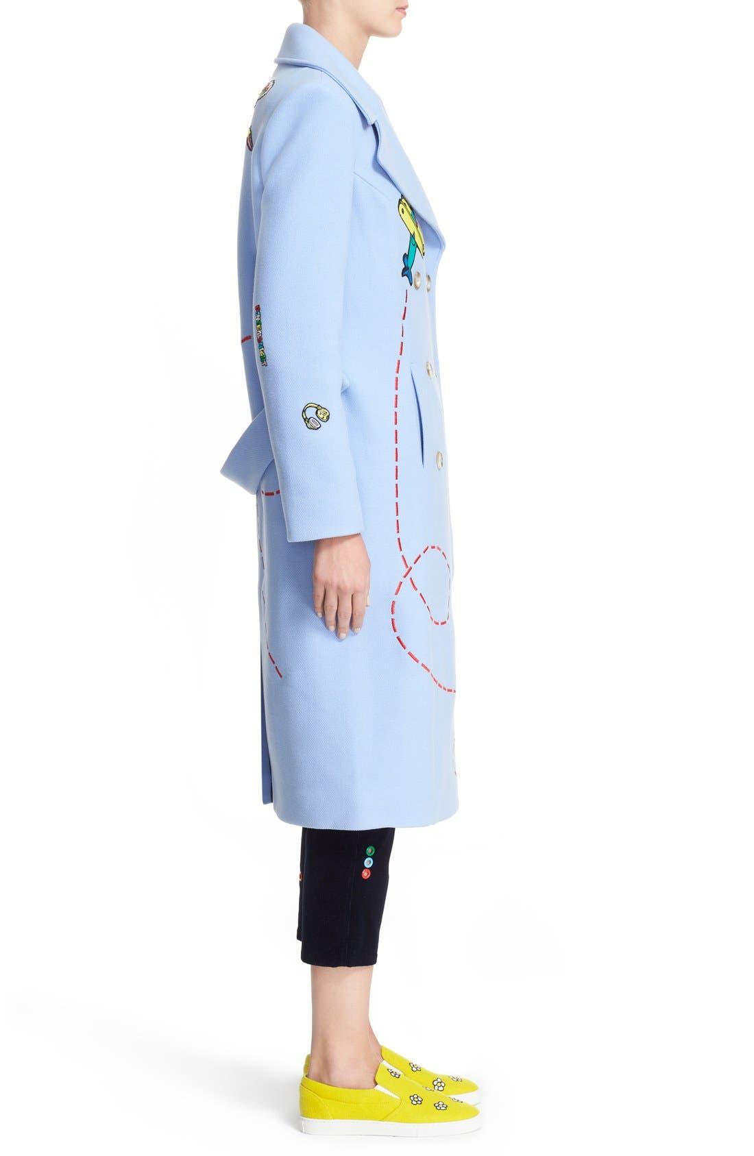 Alternate Image 5  - Mira Mikati 'Fly Away Sky Rocket' Coat