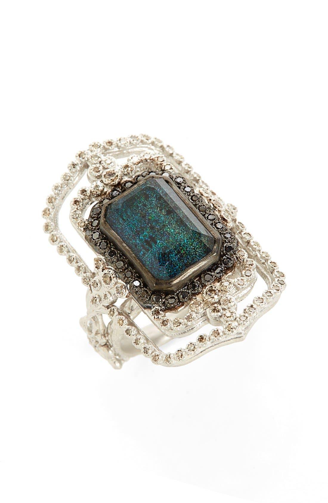 Main Image - Armenta New World Scroll Diamond Ring