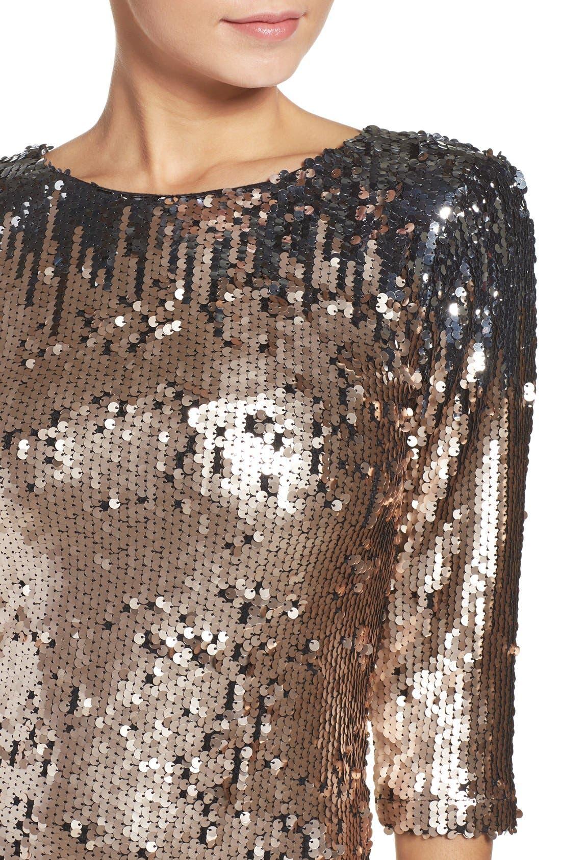 Alternate Image 5  - BB Dakota Elise Sequin Body-Con Dress