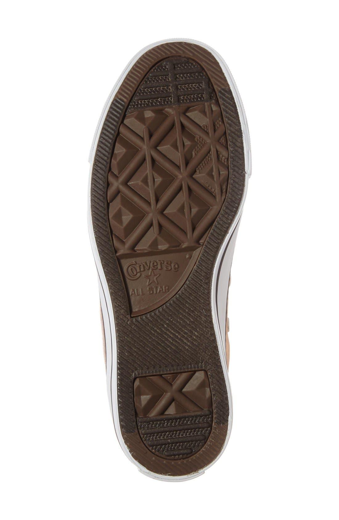 Alternate Image 4  - Converse Chuck Taylor® All Star® Metallic High Top Sneaker (Women)