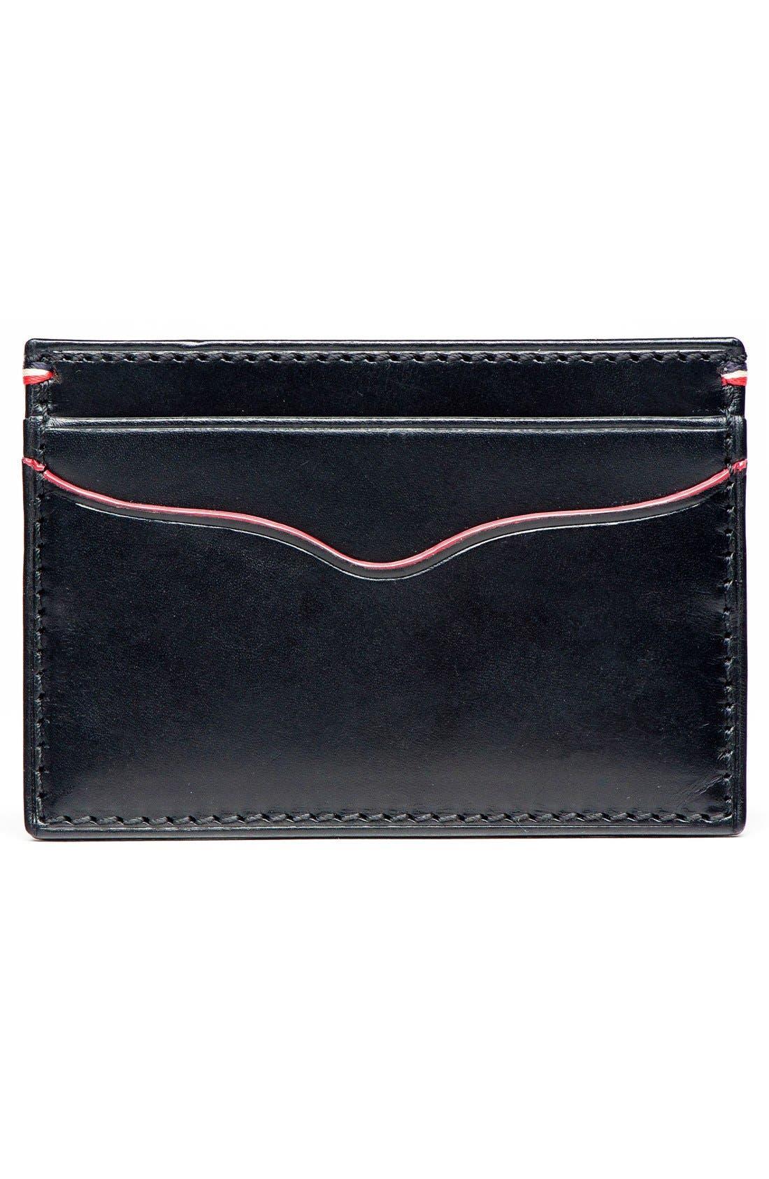 Alternate Image 2  - Jack Mason Vacchetta Lux Leather Card Case