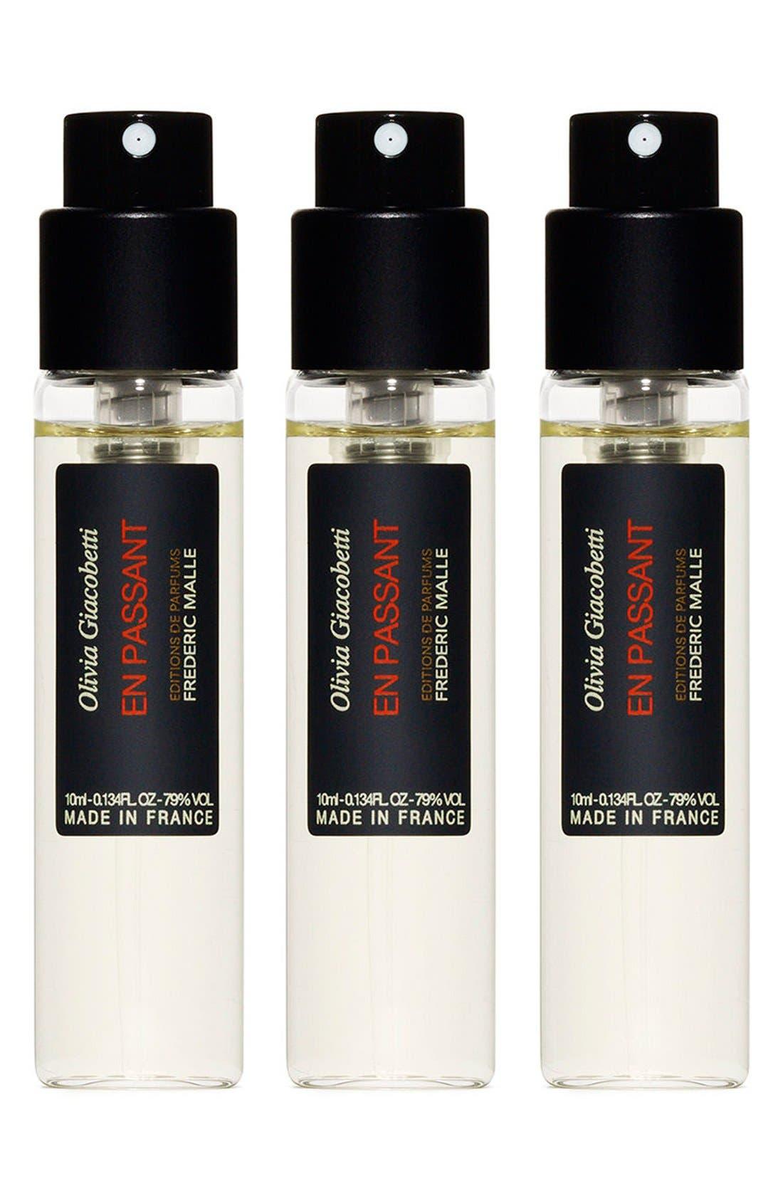 Editions de Parfums Frédéric Malle En Passant Parfum Spray Travel Trio