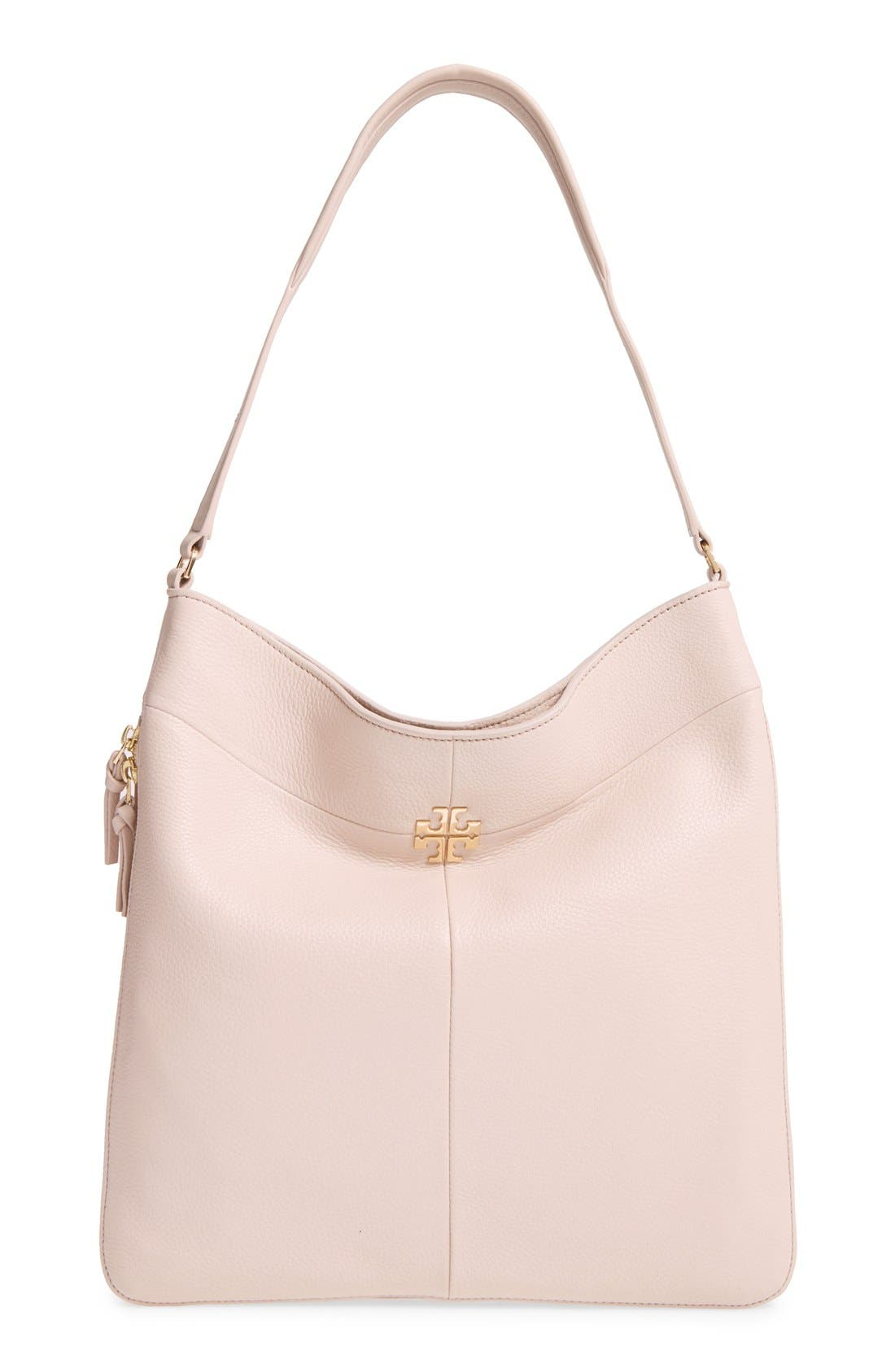 Alternate Image 1 Selected - Tory Burch Ivy Leather Hobo