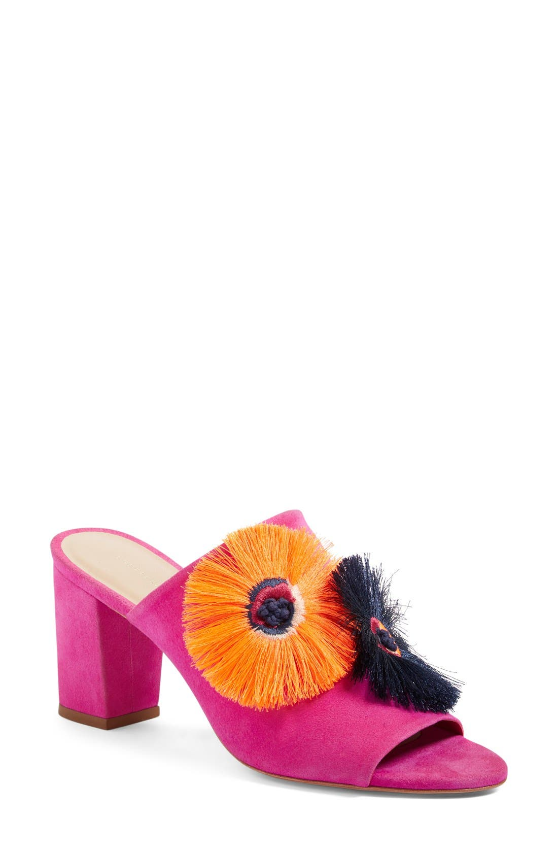 Alternate Image 1 Selected - Loeffler Randall Flower Mule (Women)