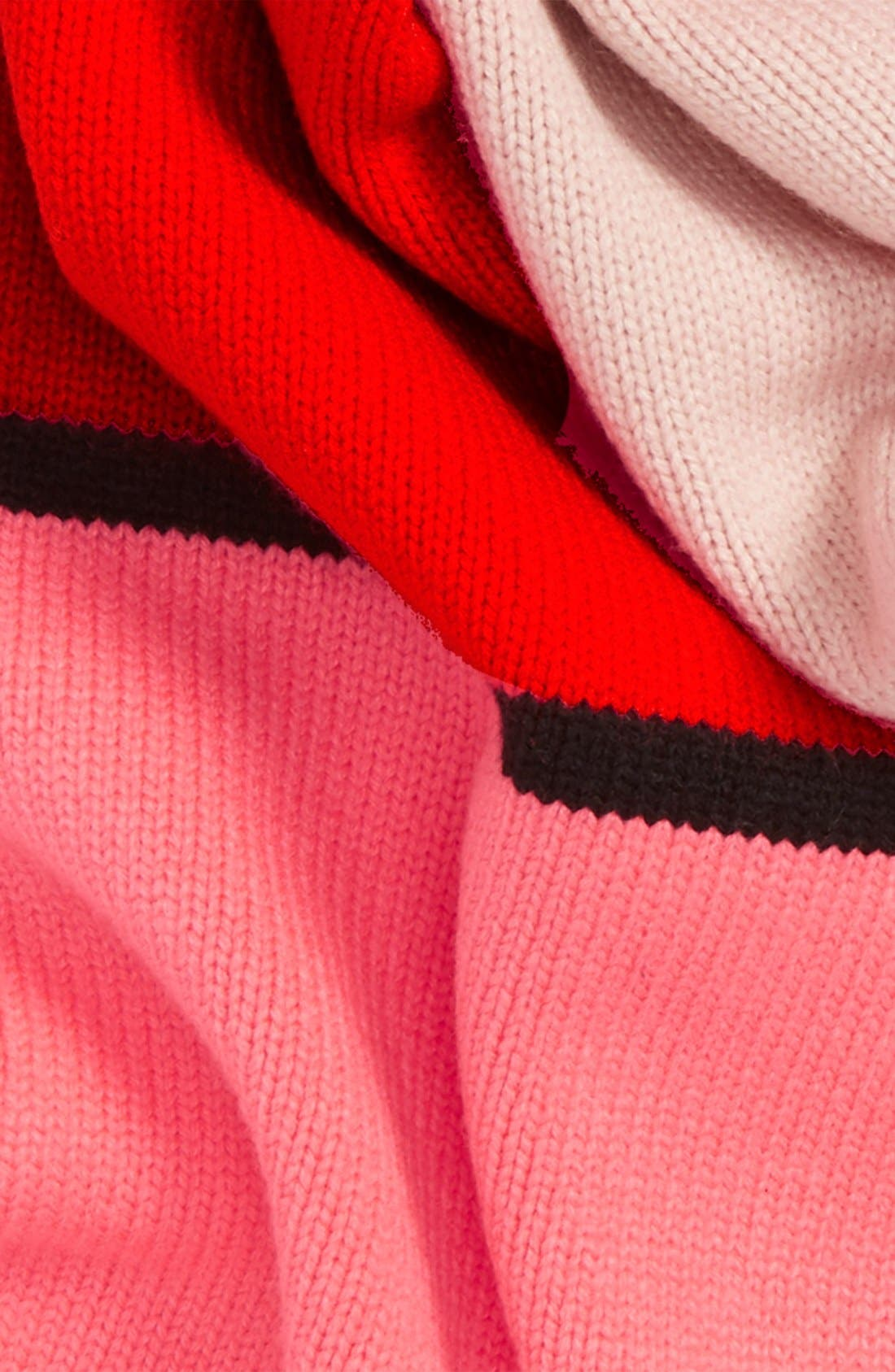 Alternate Image 3  - kate spade new york mondarian colorblock scarf