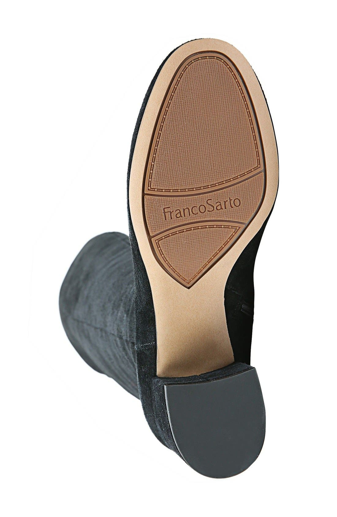 Alternate Image 4  - Franco Sarto Kerri Over the Knee Boot (Women)