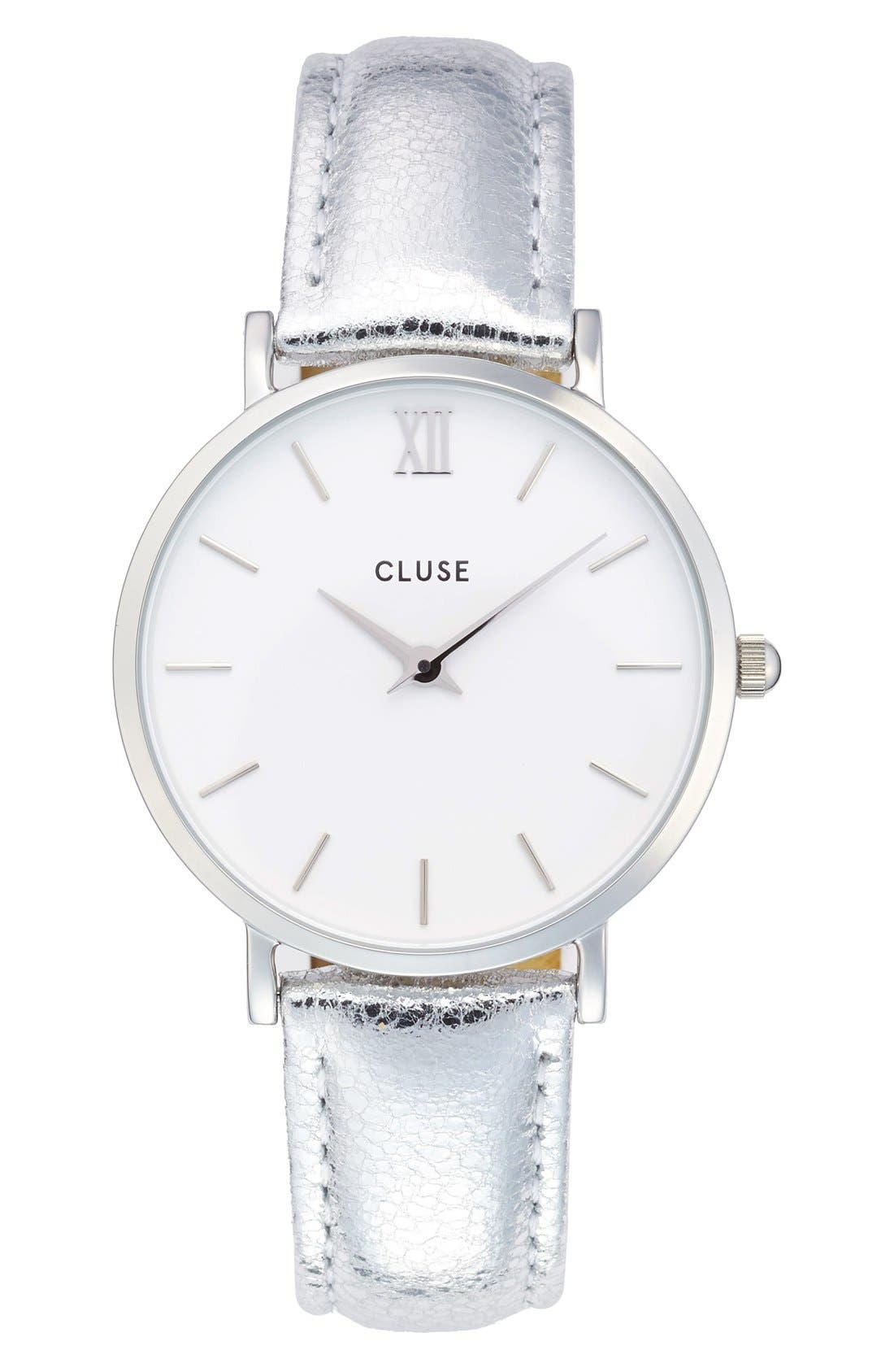 CLUSE Minuit Metallic Watch, 33mm