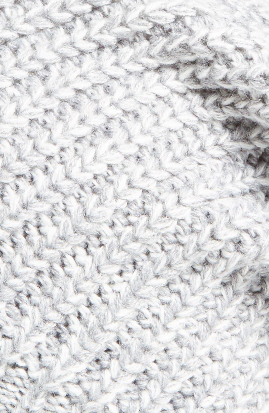 Alternate Image 2  - Sole Society Pom Knit Beanie