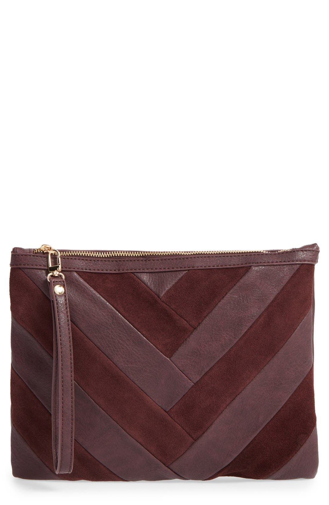Main Image - Sole Society Shery Zip Pouch
