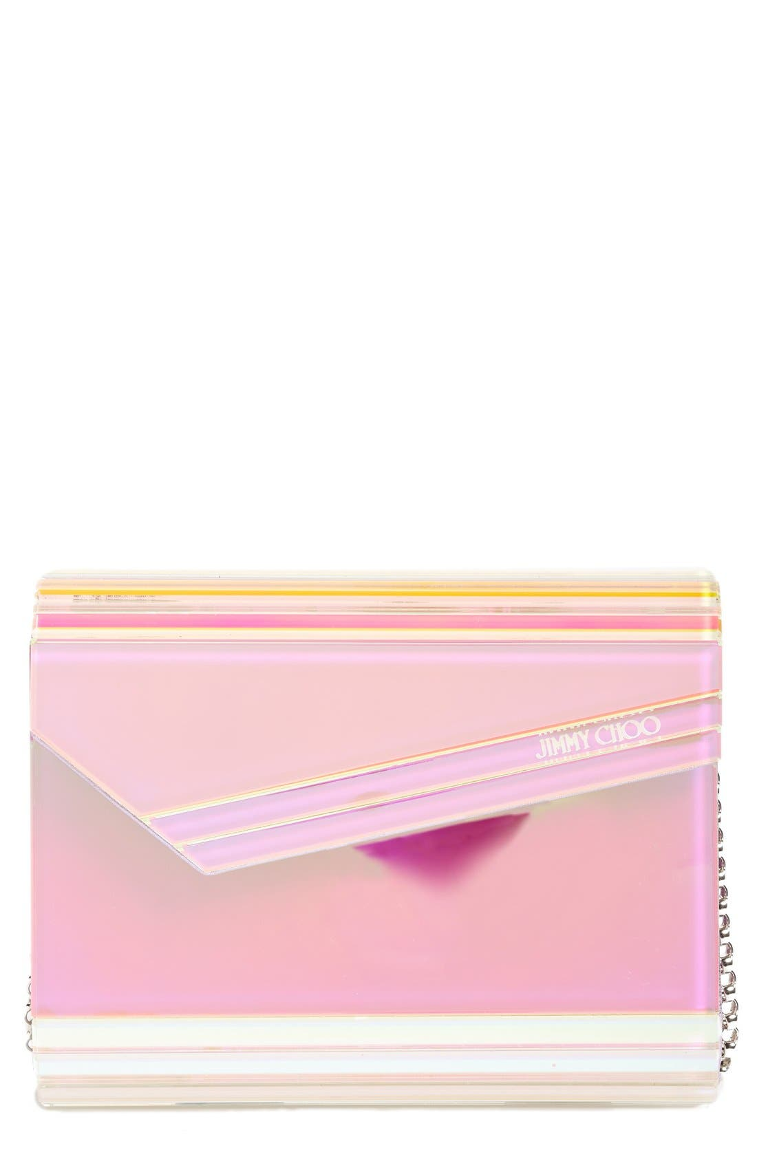Alternate Image 1 Selected - Jimmy Choo Candy Holographic Clutch