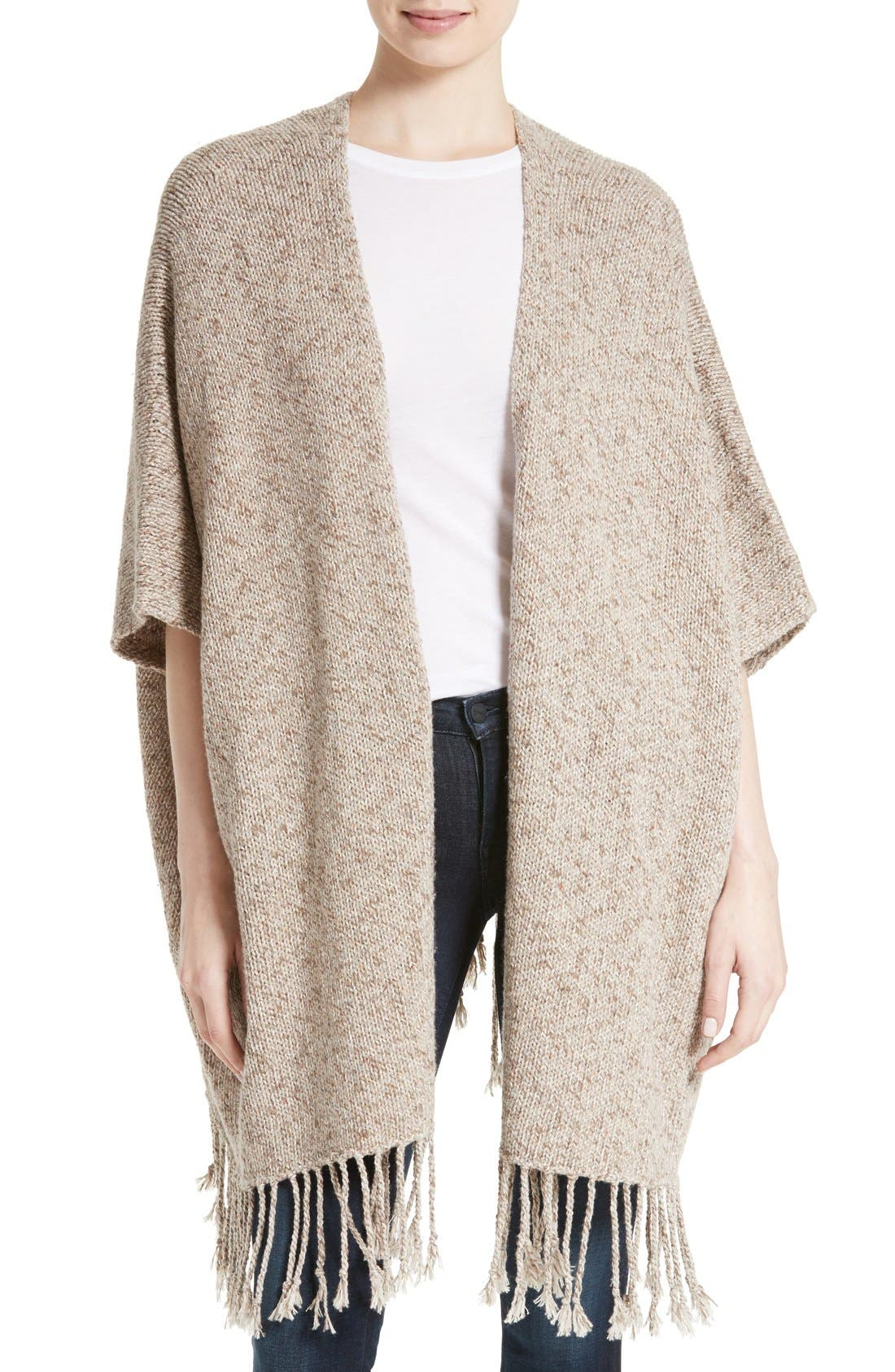 Alternate Image 1 Selected - Joie Lucrece Poncho Cardigan