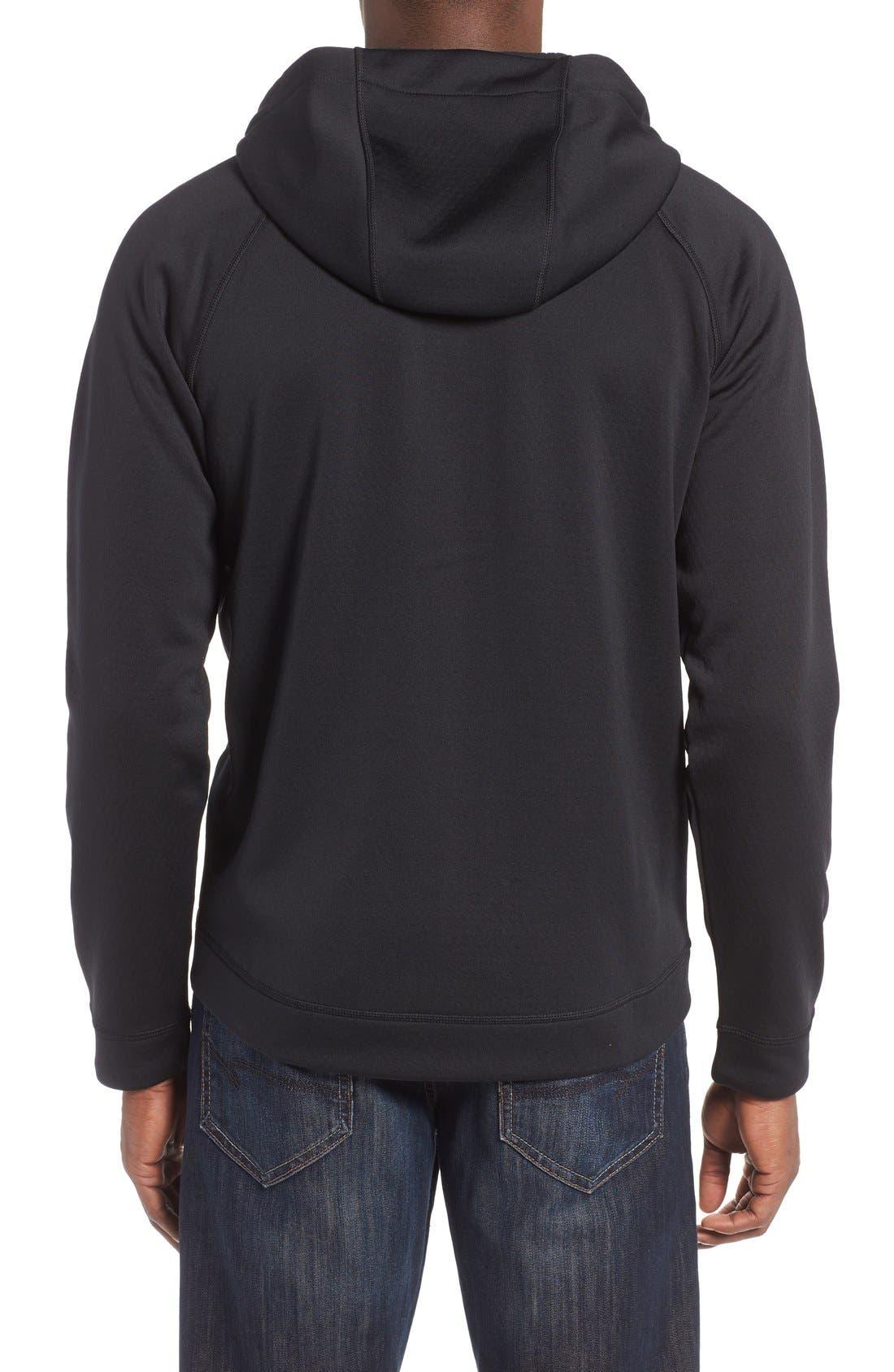 Alternate Image 2  - Nike Therma-Sphere Hooded Zip Jacket