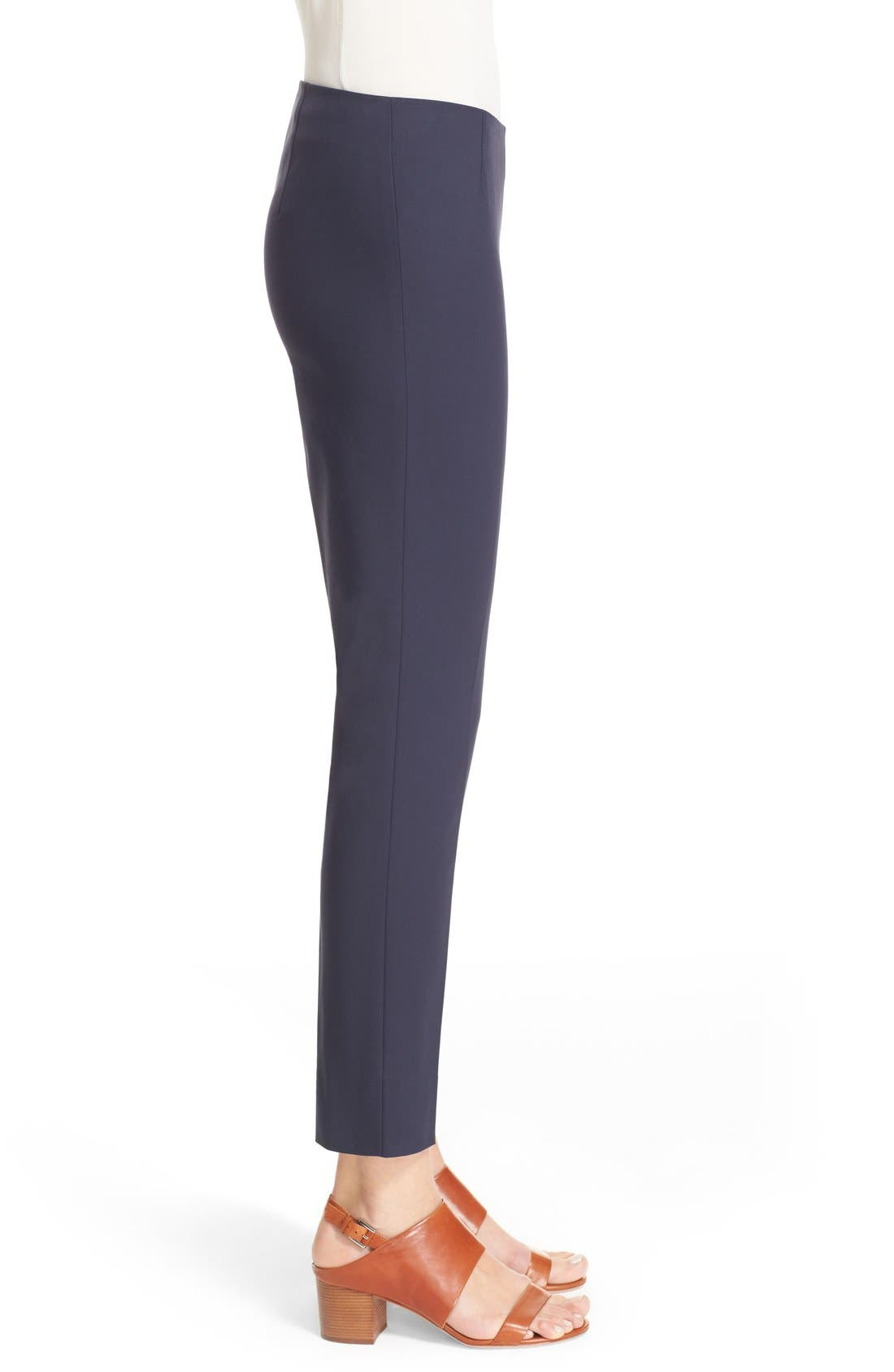 Alternate Image 5  - Lafayette 148 New York 'Stanton' Slim Leg Ankle Pants (Regular & Petite)
