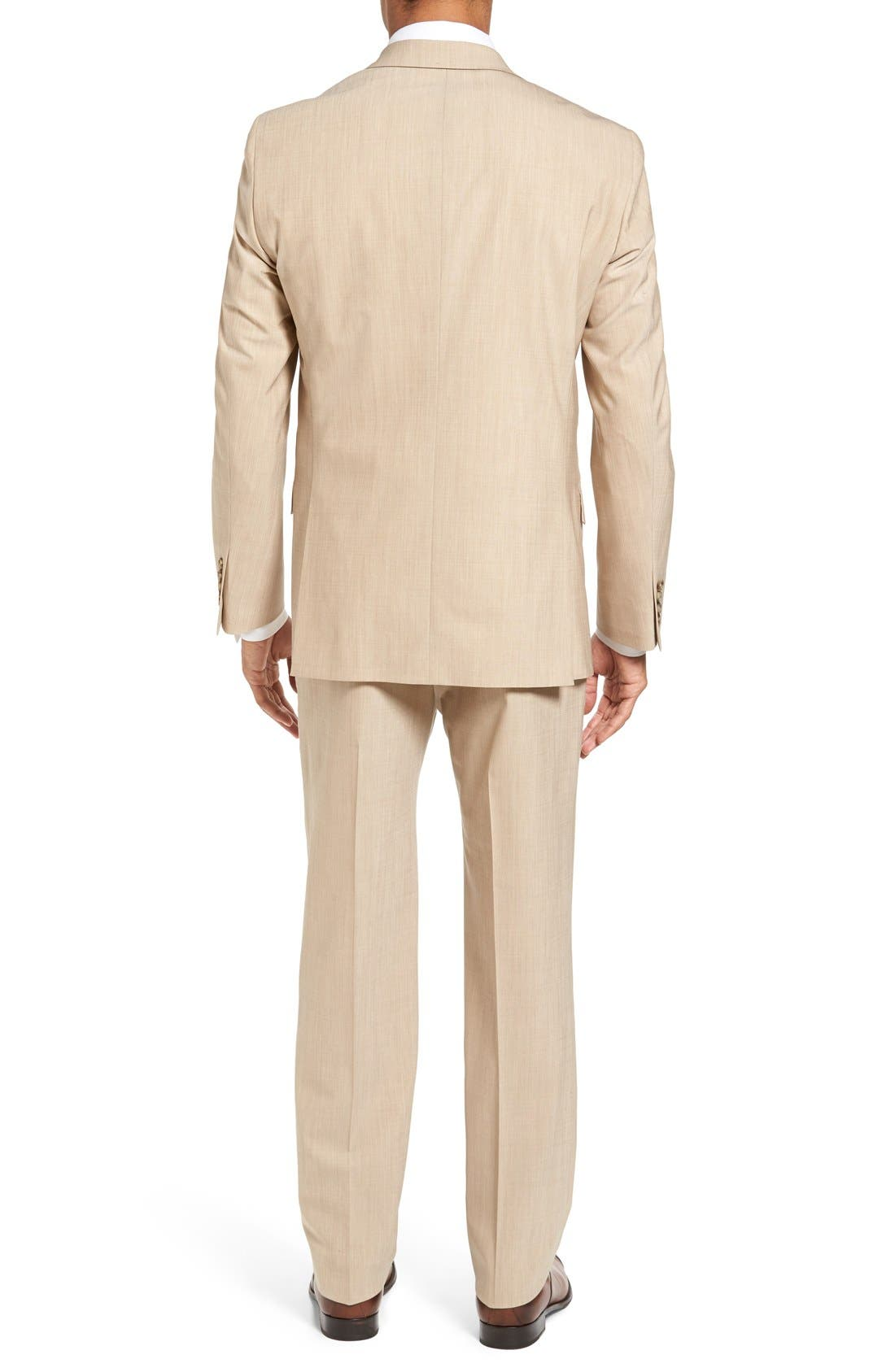Alternate Image 2  - Hart Schaffner Marx New York Classic Fit Solid Stretch Wool Suit