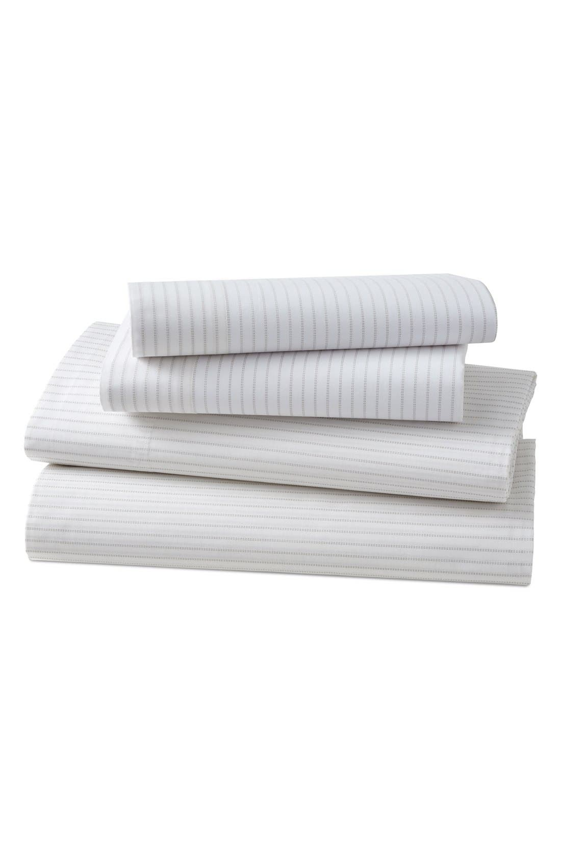 KASSATEX Ascott 200 Thread Count Flat Sheet