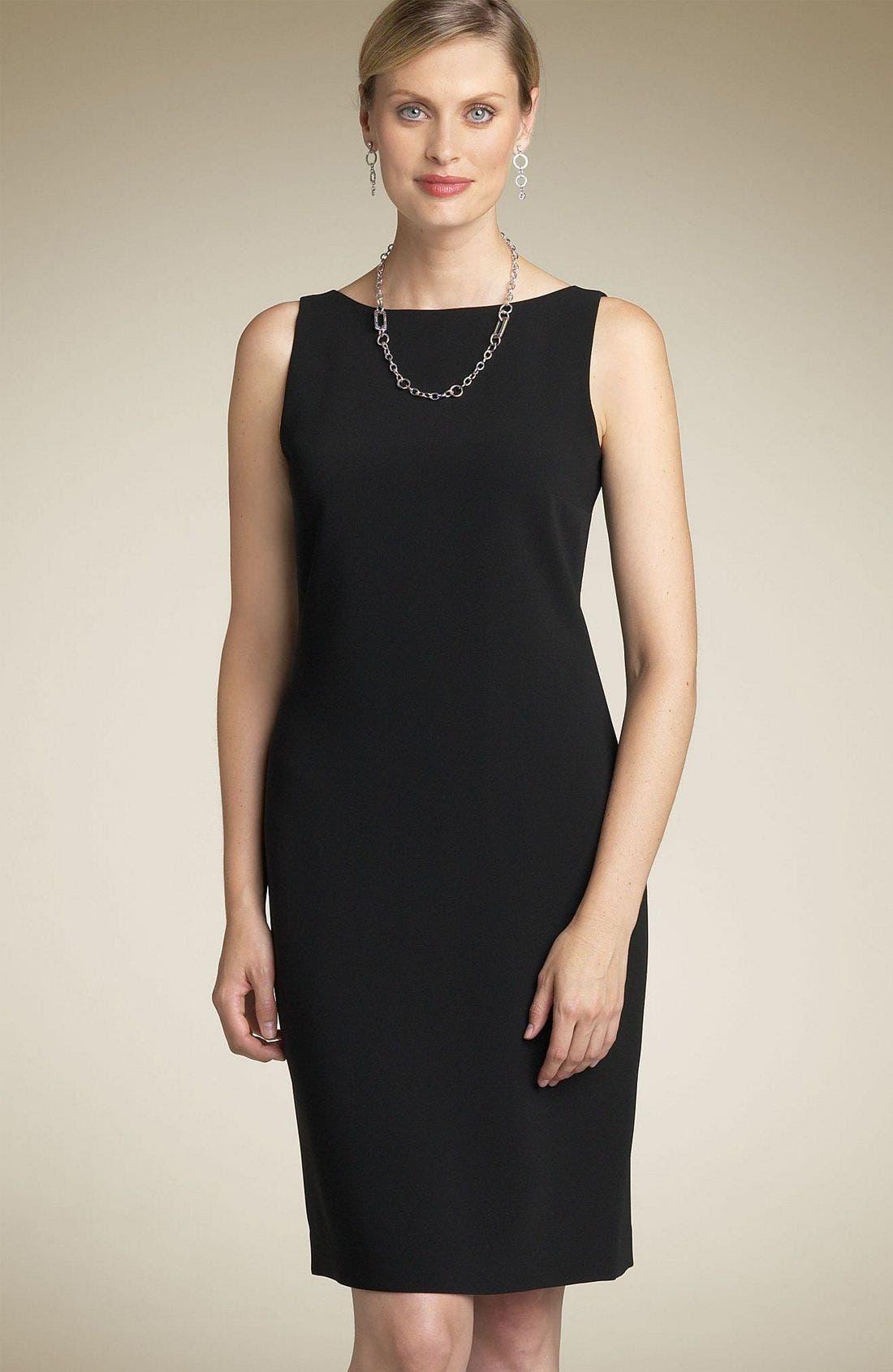 Main Image - Louben Sheath Dress (Petite)