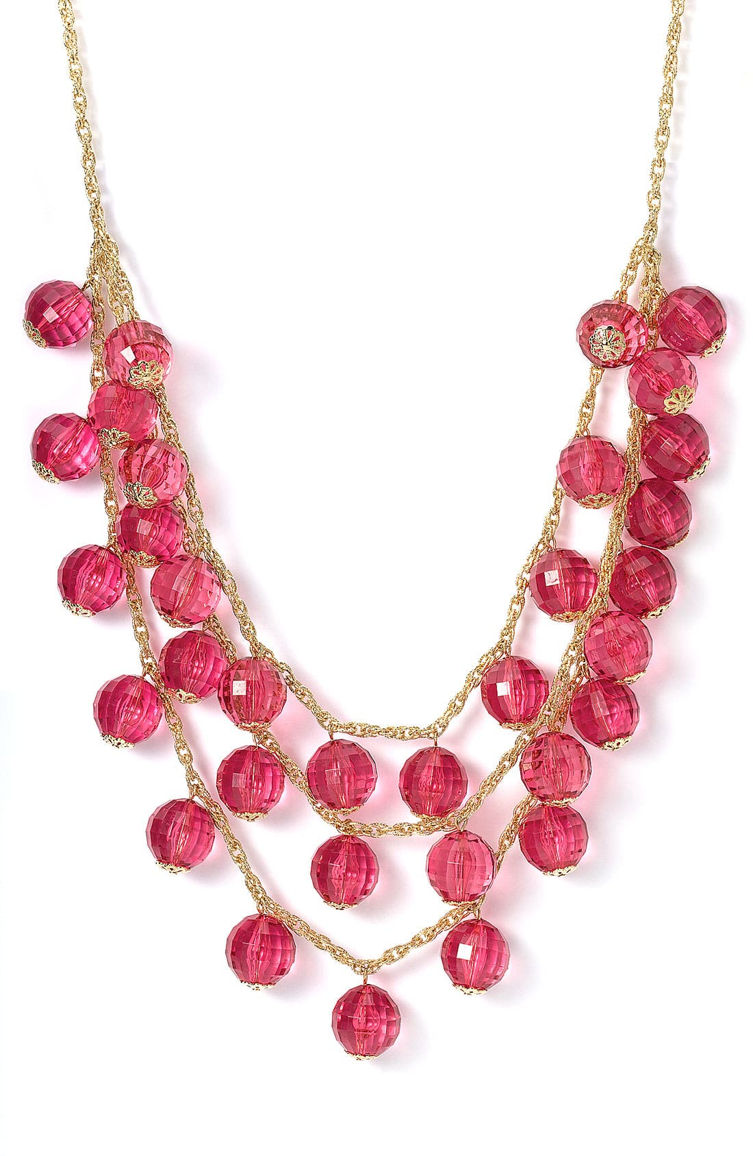 Main Image - kate spade 'gumdrops' long triple layer necklace