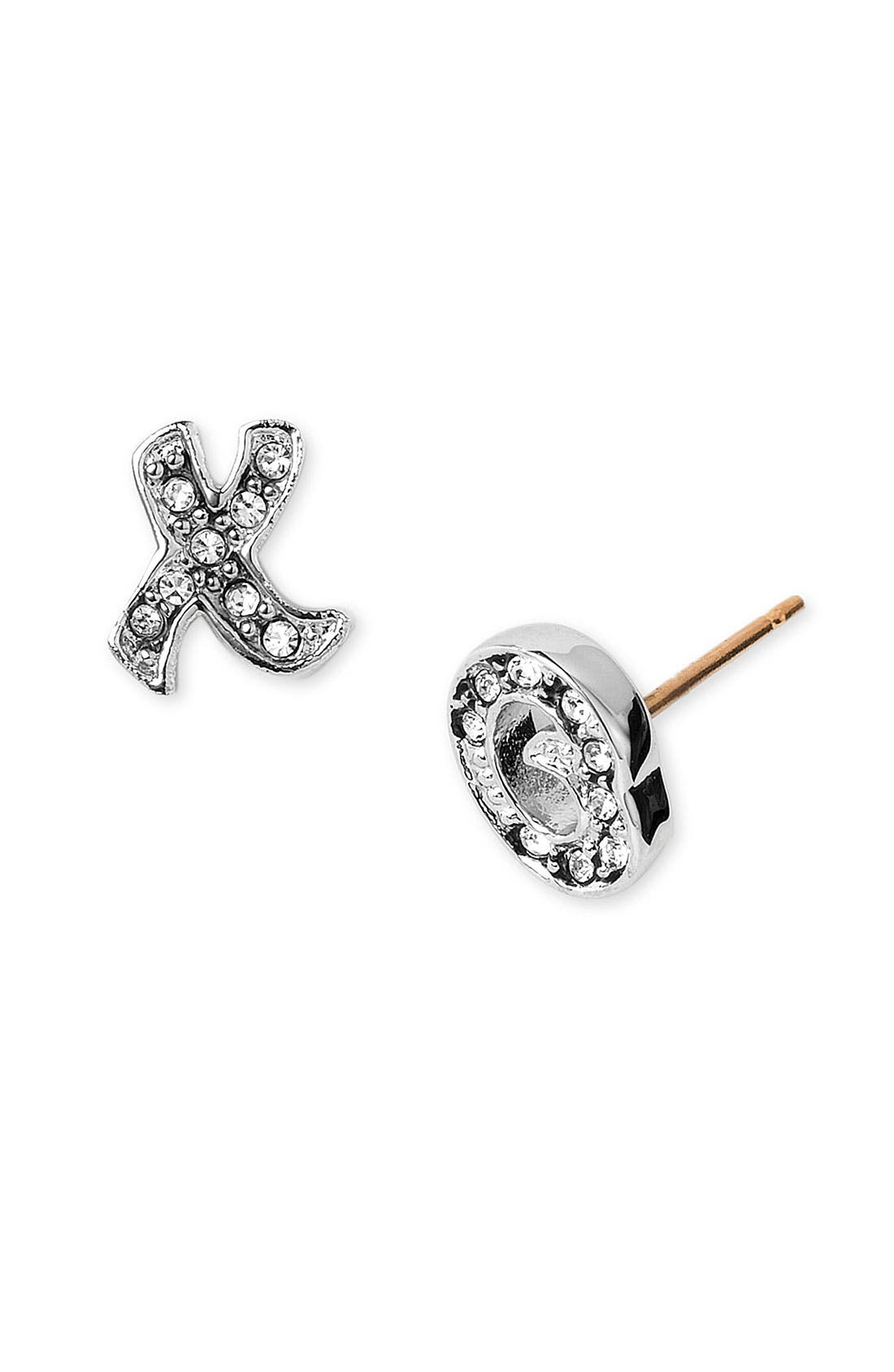 Main Image - Juicy Couture 'XO' Stud Earrings