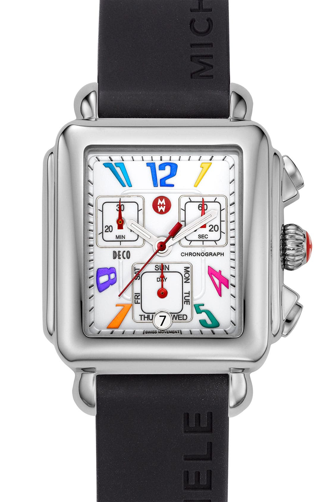 Alternate Image 1 Selected - MICHELE 'Deco Carousel' Customizable Watch