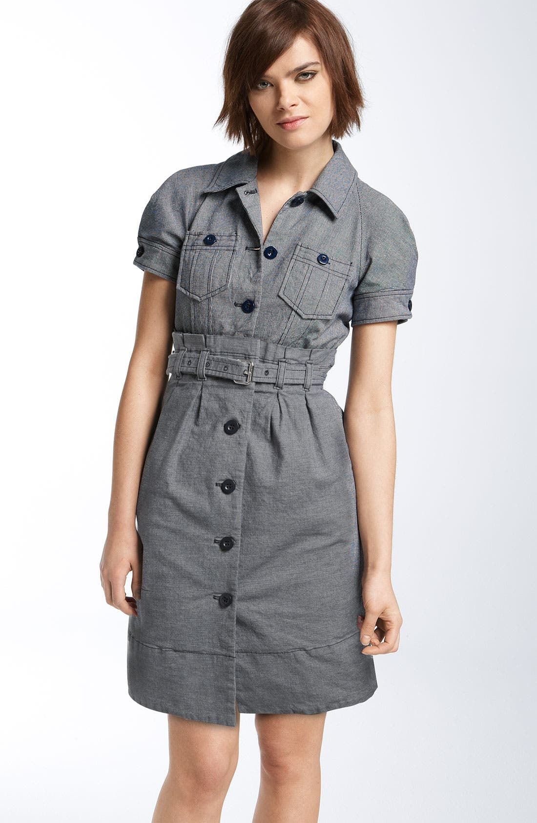 Alternate Image 1 Selected - MARC BY MARC JACOBS Mini Check Dress