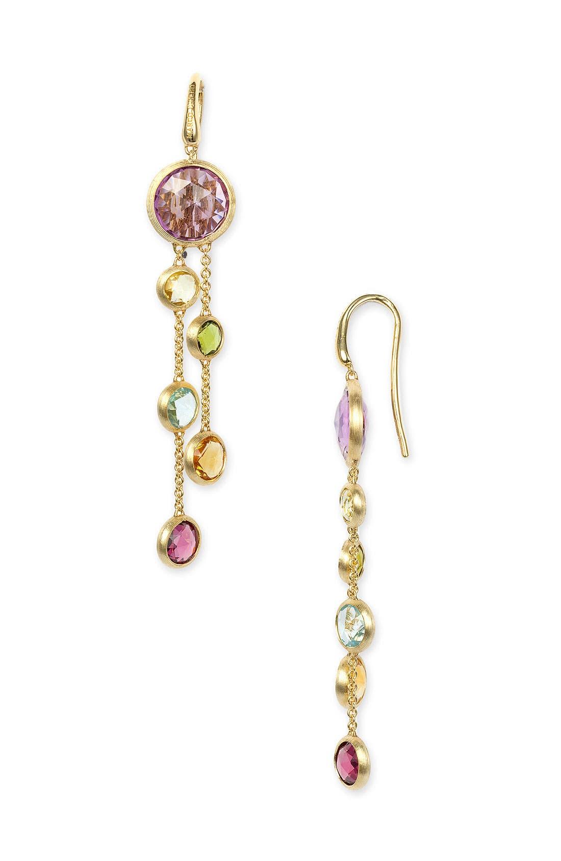 Alternate Image 1 Selected - Marco Bicego 'Mini Jaipur' Double Strand Earrings