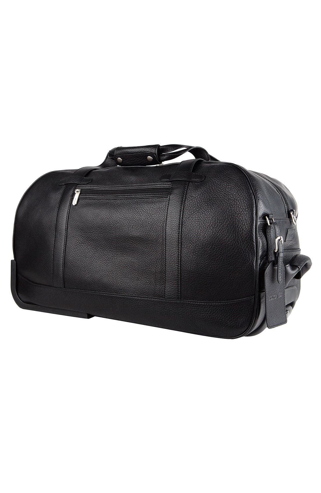Alternate Image 2  - Bosca 'Tribeca Collection' Wheeled Duffel Bag