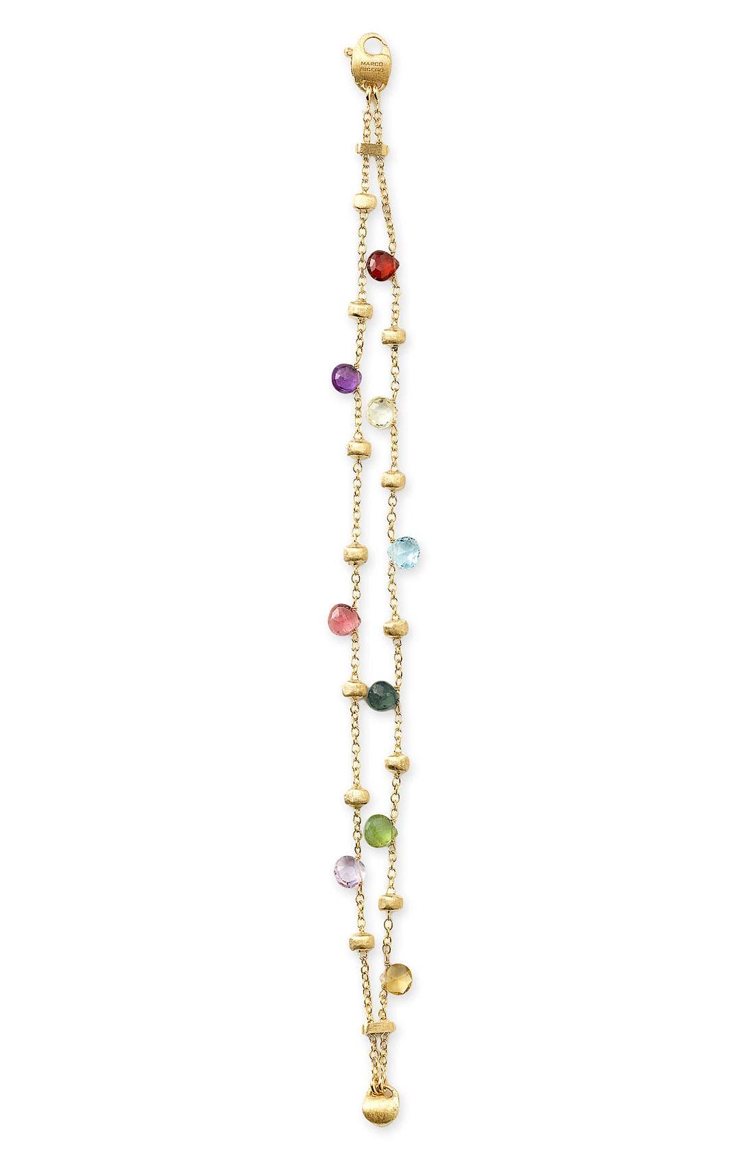 Alternate Image 2  - Marco Bicego 'Paradise' Double Strand Semiprecious Stone Bracelet