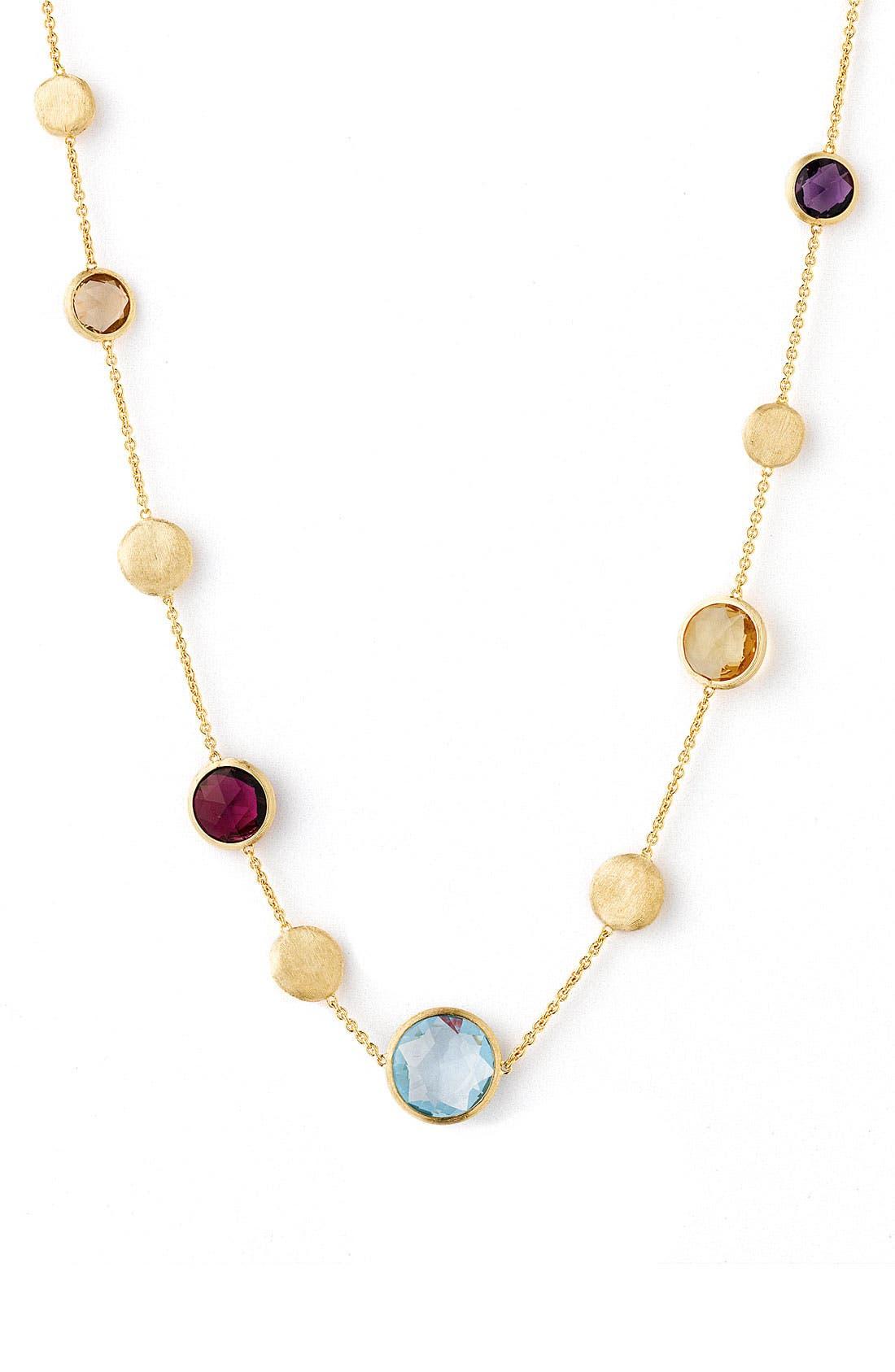 Alternate Image 1 Selected - Marco Bicego 'Jaipur' Single Strand Semiprecious Necklace