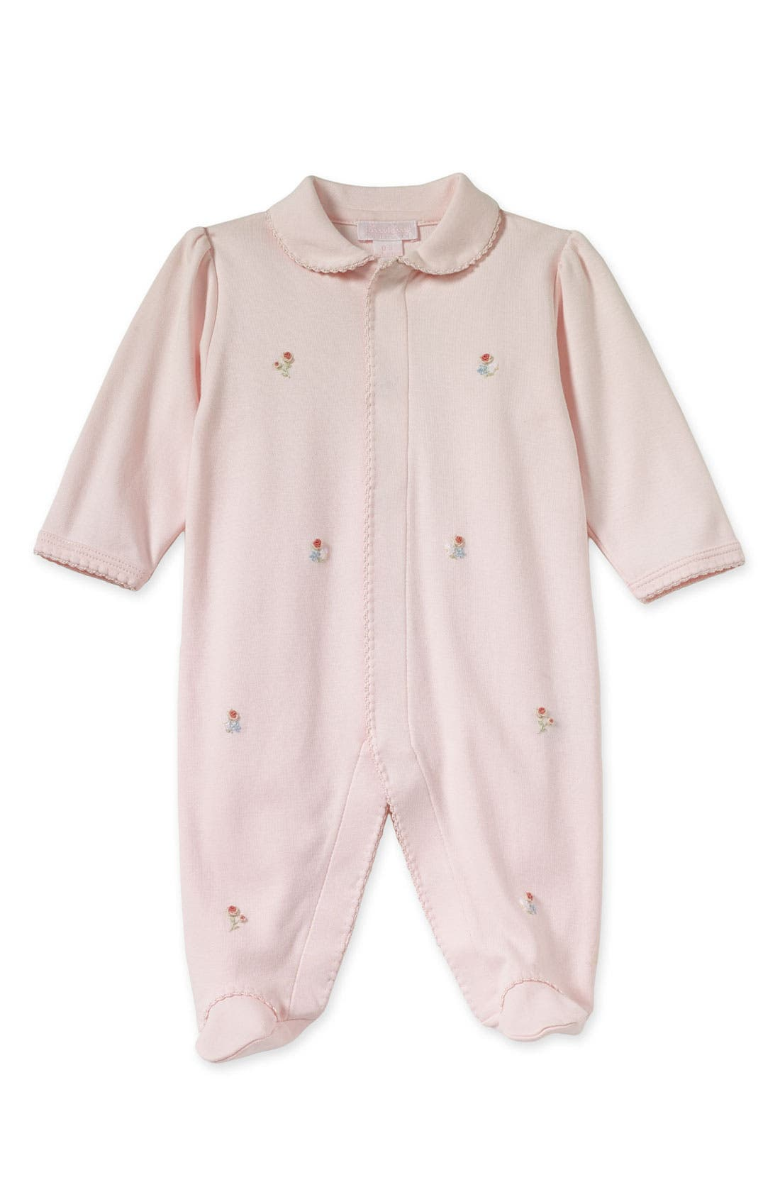 Alternate Image 1 Selected - Kissy Kissy Footed Coveralls (Infant)