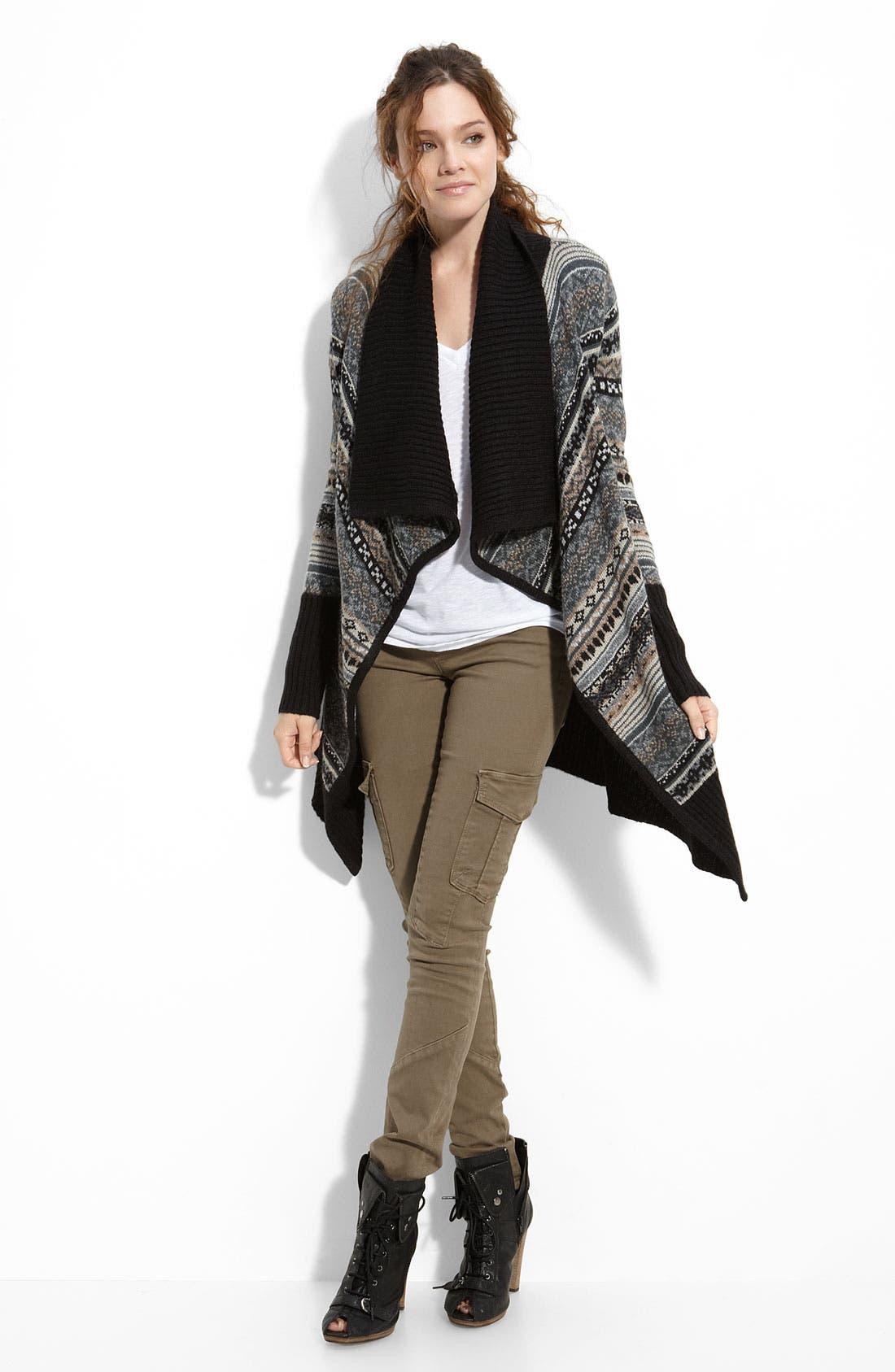Alternate Image 3  - Kensie 'Nomad' Shawl Collar Cardigan