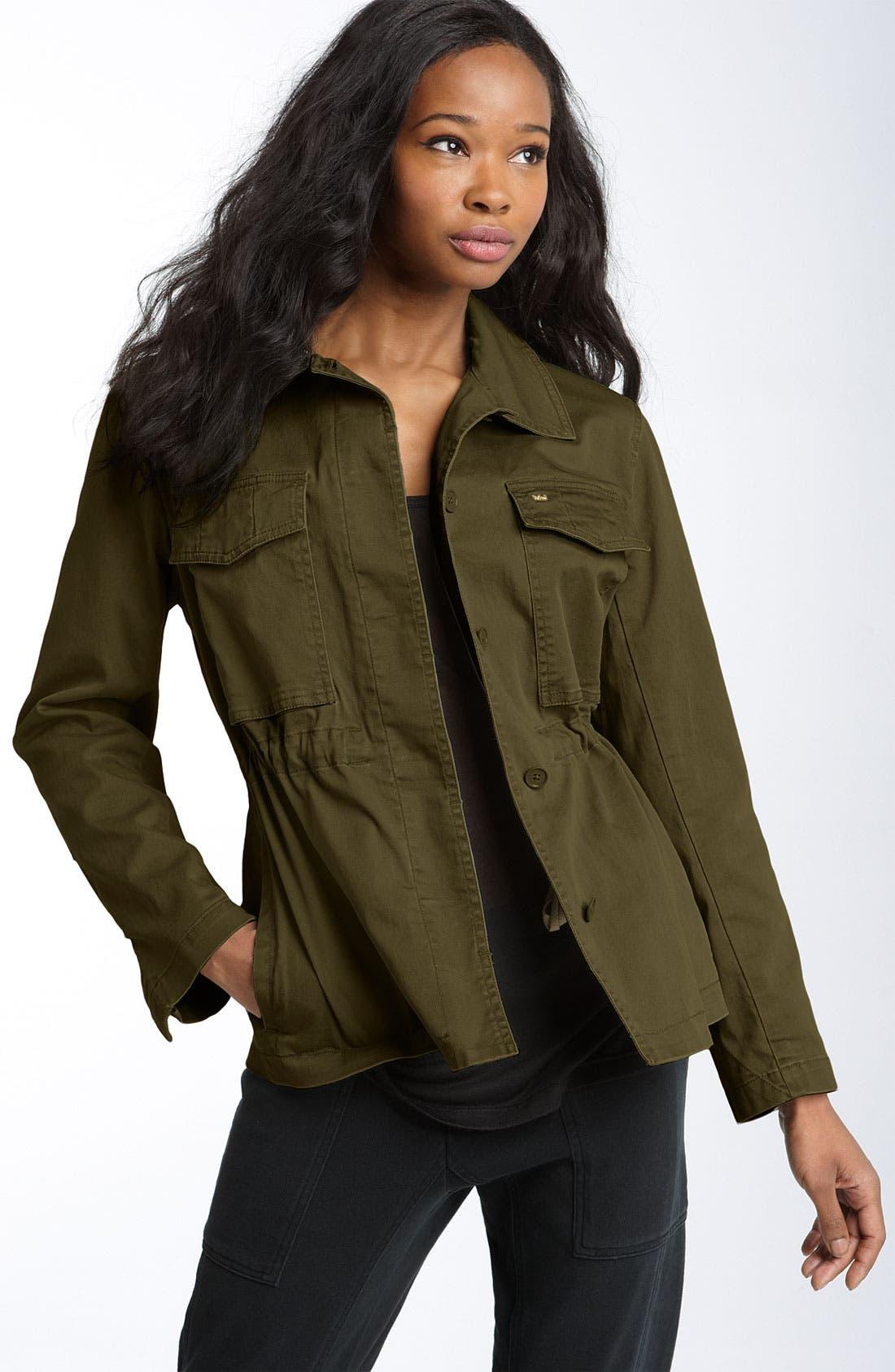Alternate Image 1 Selected - MARC BY MARC JACOBS 'Uniform' Cotton Jacket