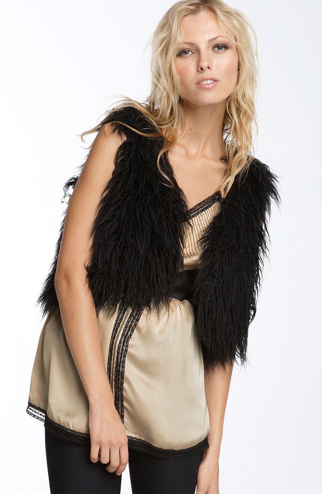 Alternate Image 1 Selected - Kensie Faux Fur Vest