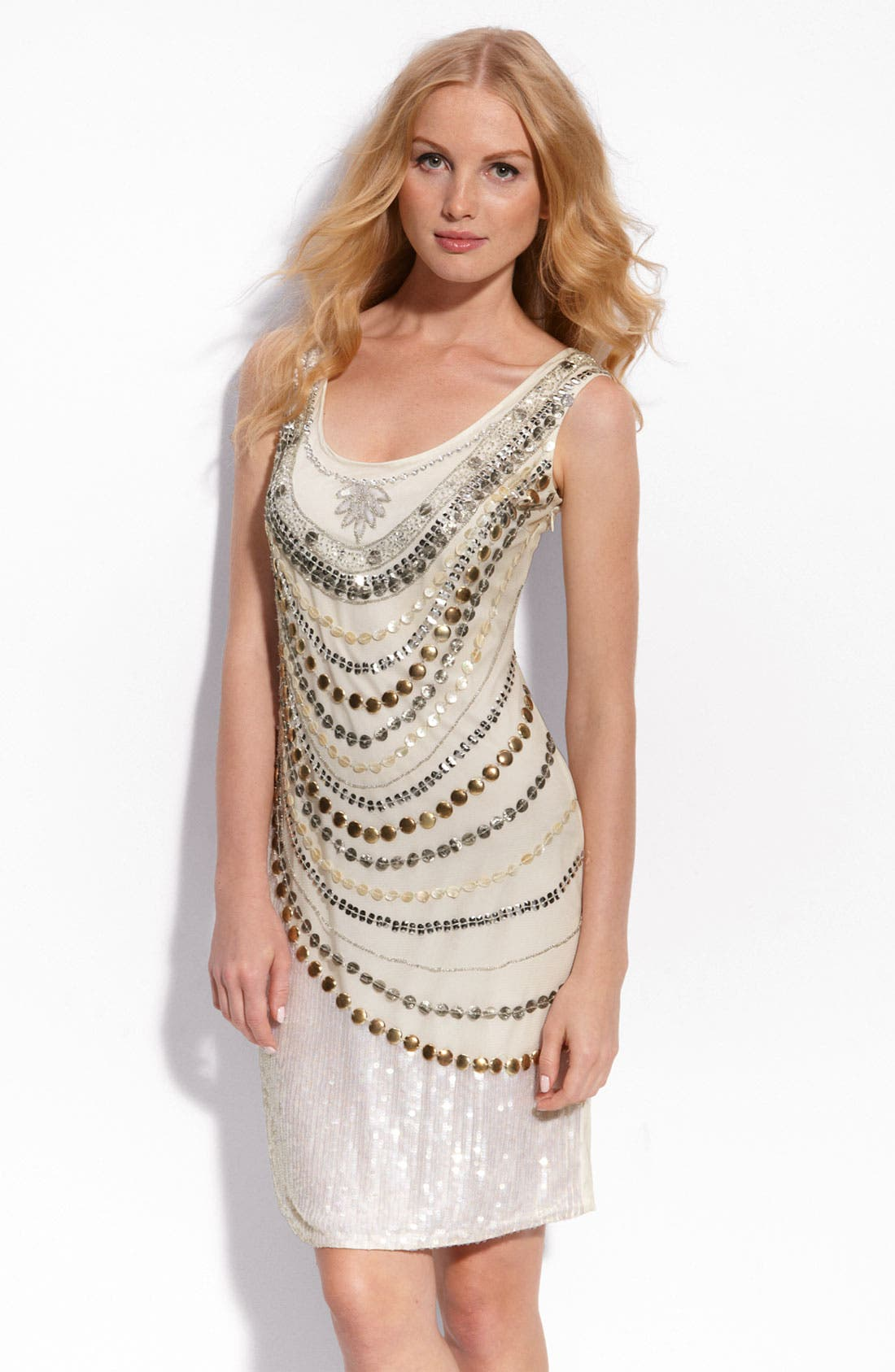 Alternate Image 1 Selected - Pisarro Nights Embellished Tank Dress