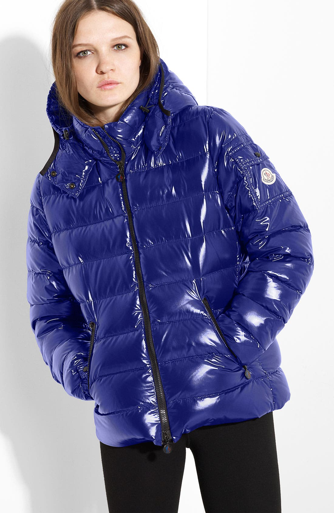 Main Image - Moncler 'Bady' Short Down Coat
