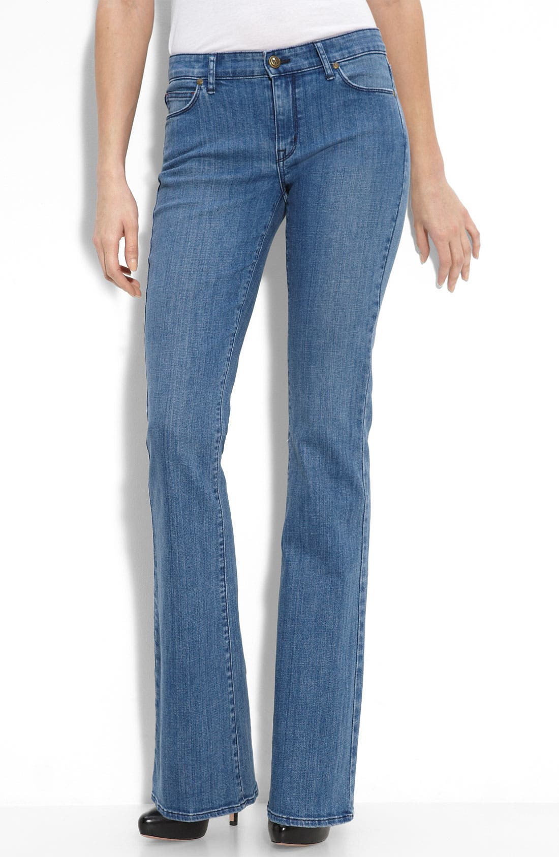 Alternate Image 2  - CJ by Cookie Johnson 'Grace' Bootcut Jeans (Shaol Wash)