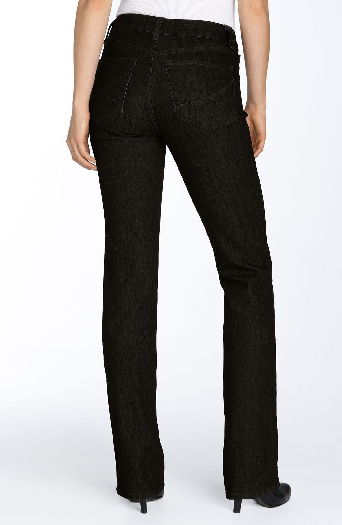 Alternate Image 2  - NYDJ 'Marilyn' Straight Leg Jeans (Petite)