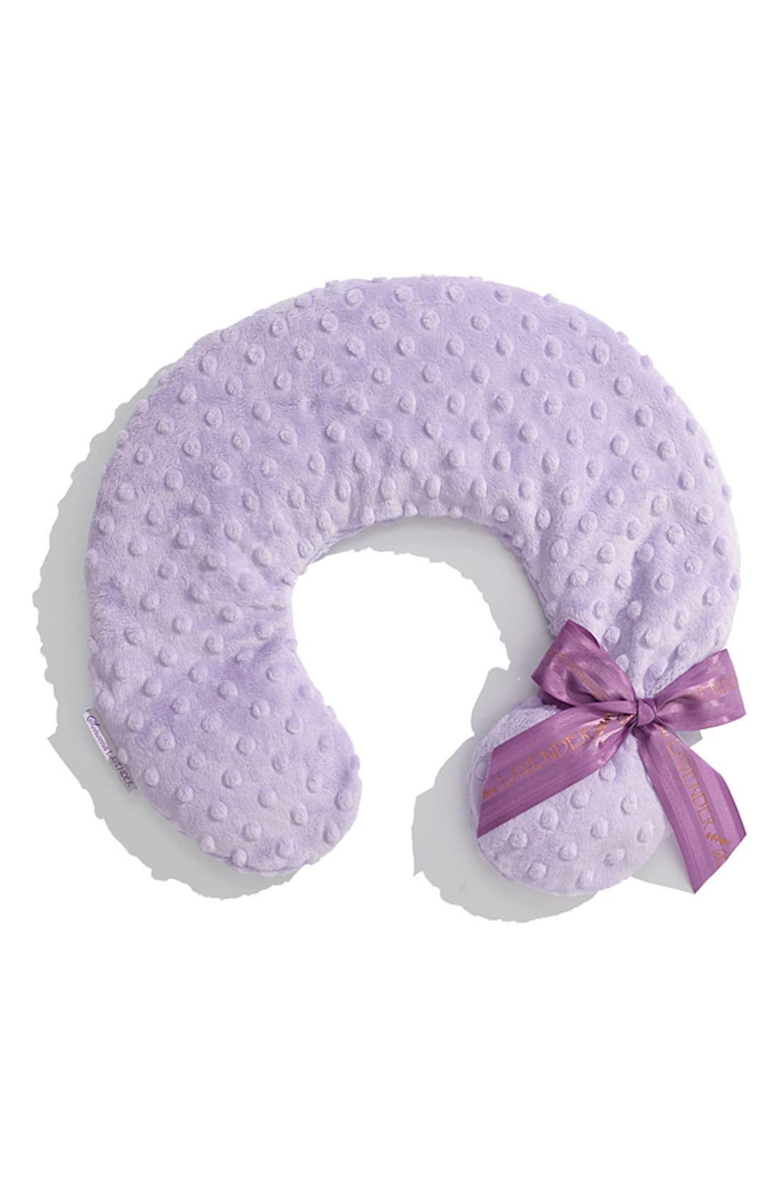 Sonoma Lavender Dot Neck Pillow