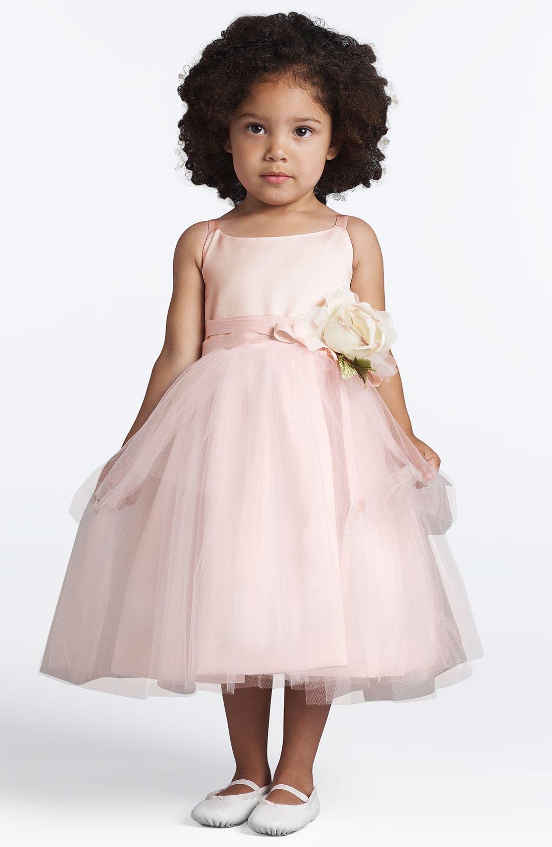 Alternate Image 1 Selected - Us Angels Tulle Ballerina Dress (Toddler Girls, Little Girls & Big Girls)