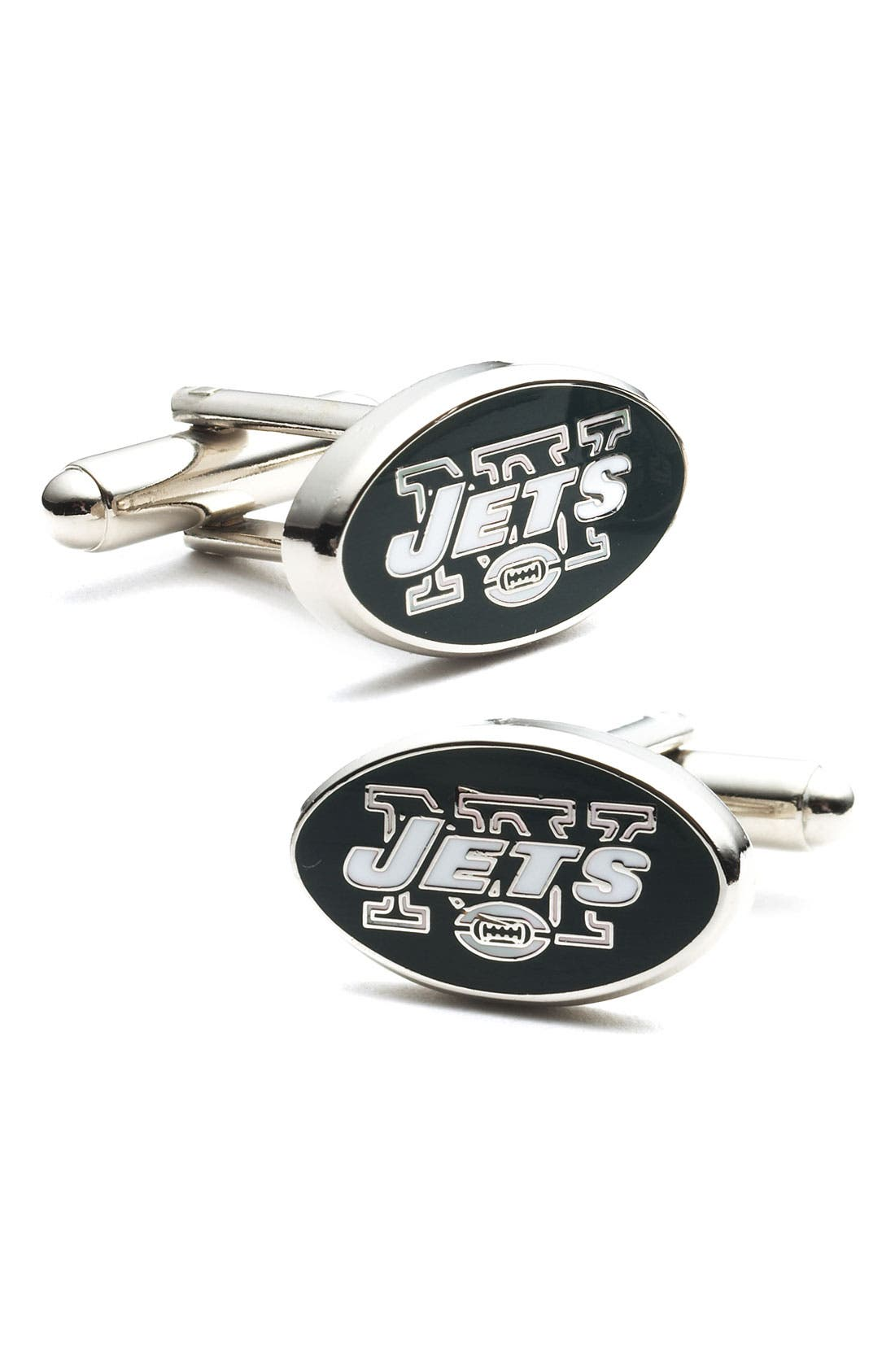 Main Image - Cufflinks, Inc. 'New York Jets' Cuff Links