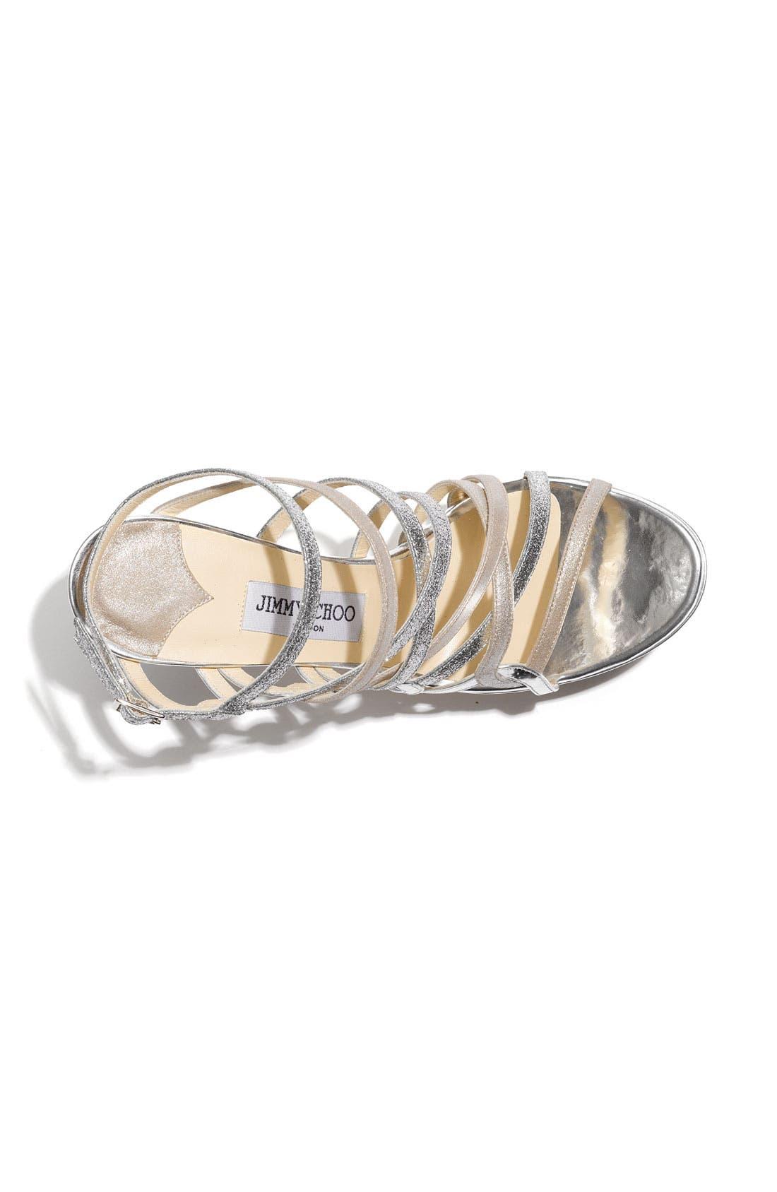 Alternate Image 3  - Jimmy Choo 'Dart' Strappy Sandal