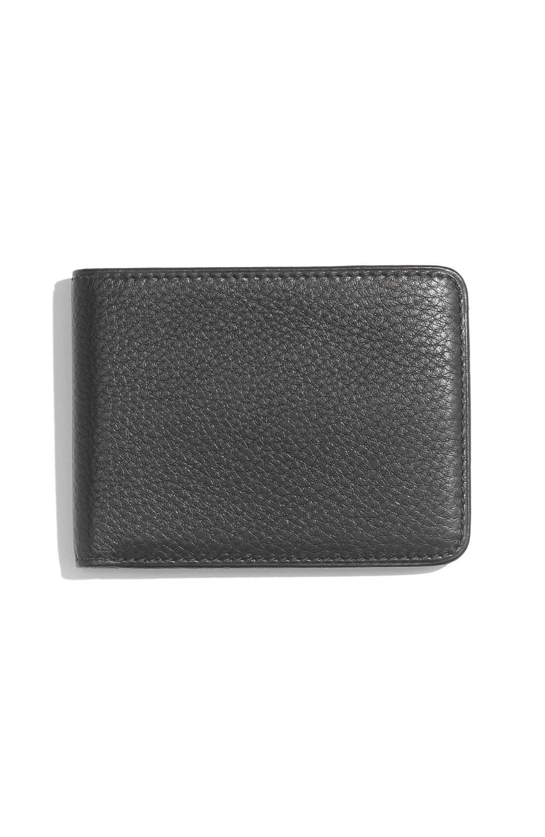 Alternate Image 2  - Bosca 'Deluxe Executive' Shrunken Leather Wallet