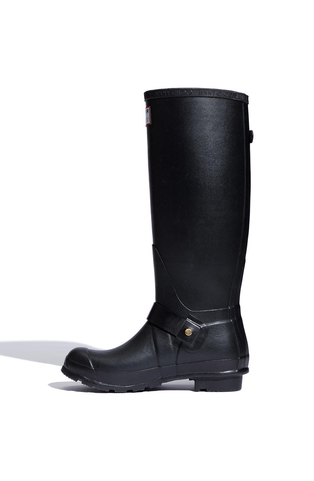 Alternate Image 2  - Hunter & Jimmy Choo 'Welly' Rubber Rain Boot